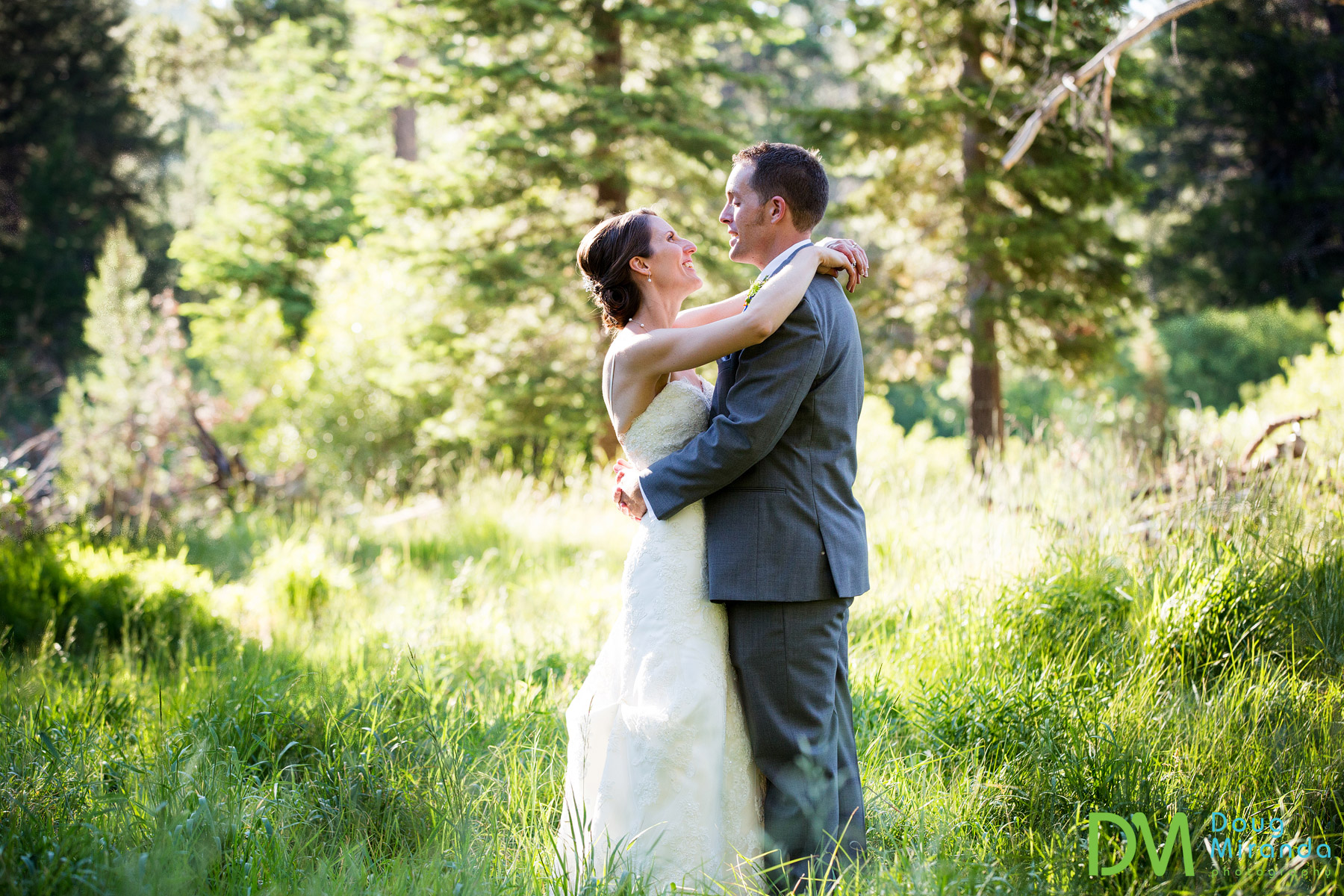 wedding photography at tahoe paradise park