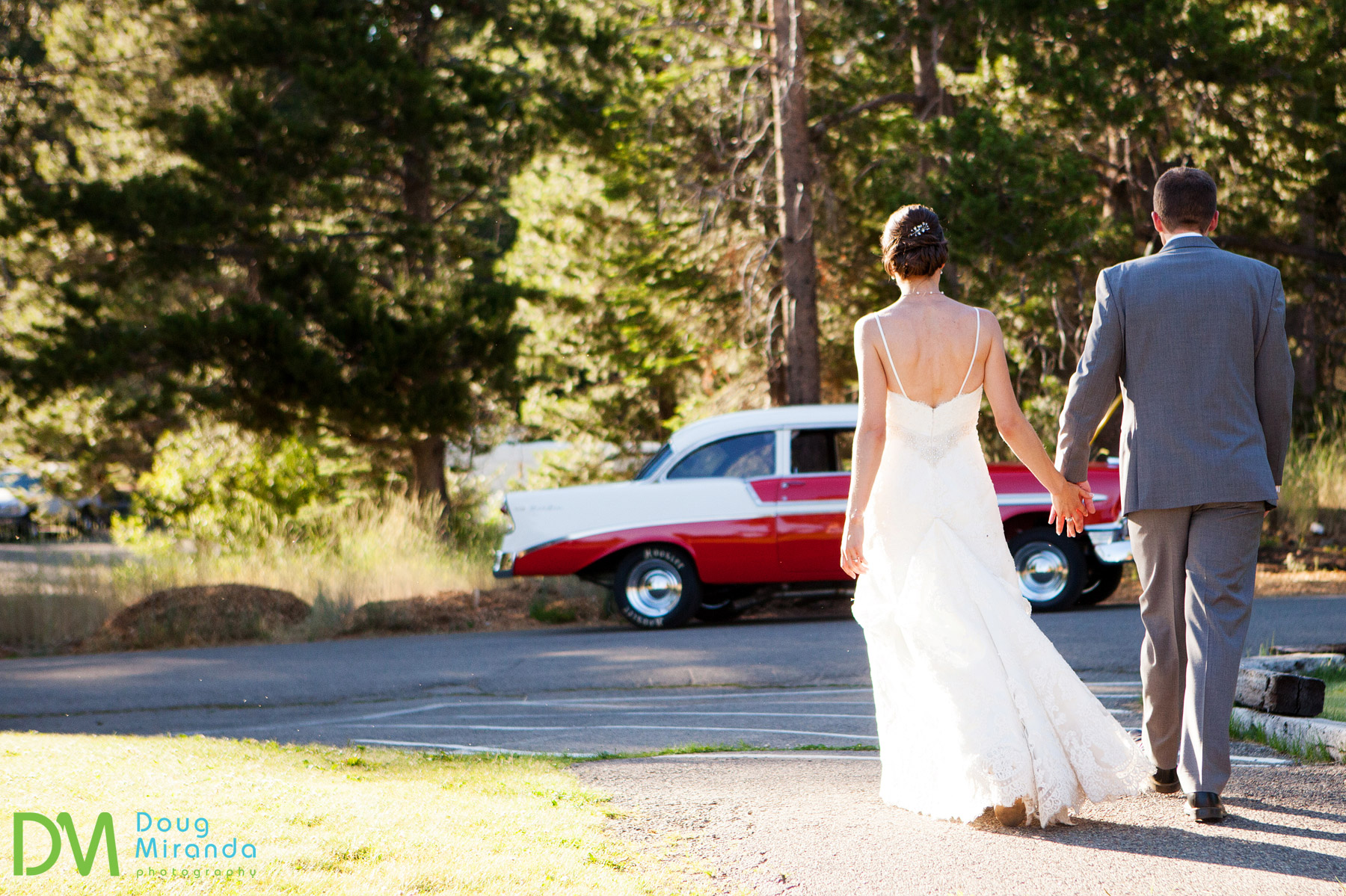 tahoe paradise park photos of a wedding