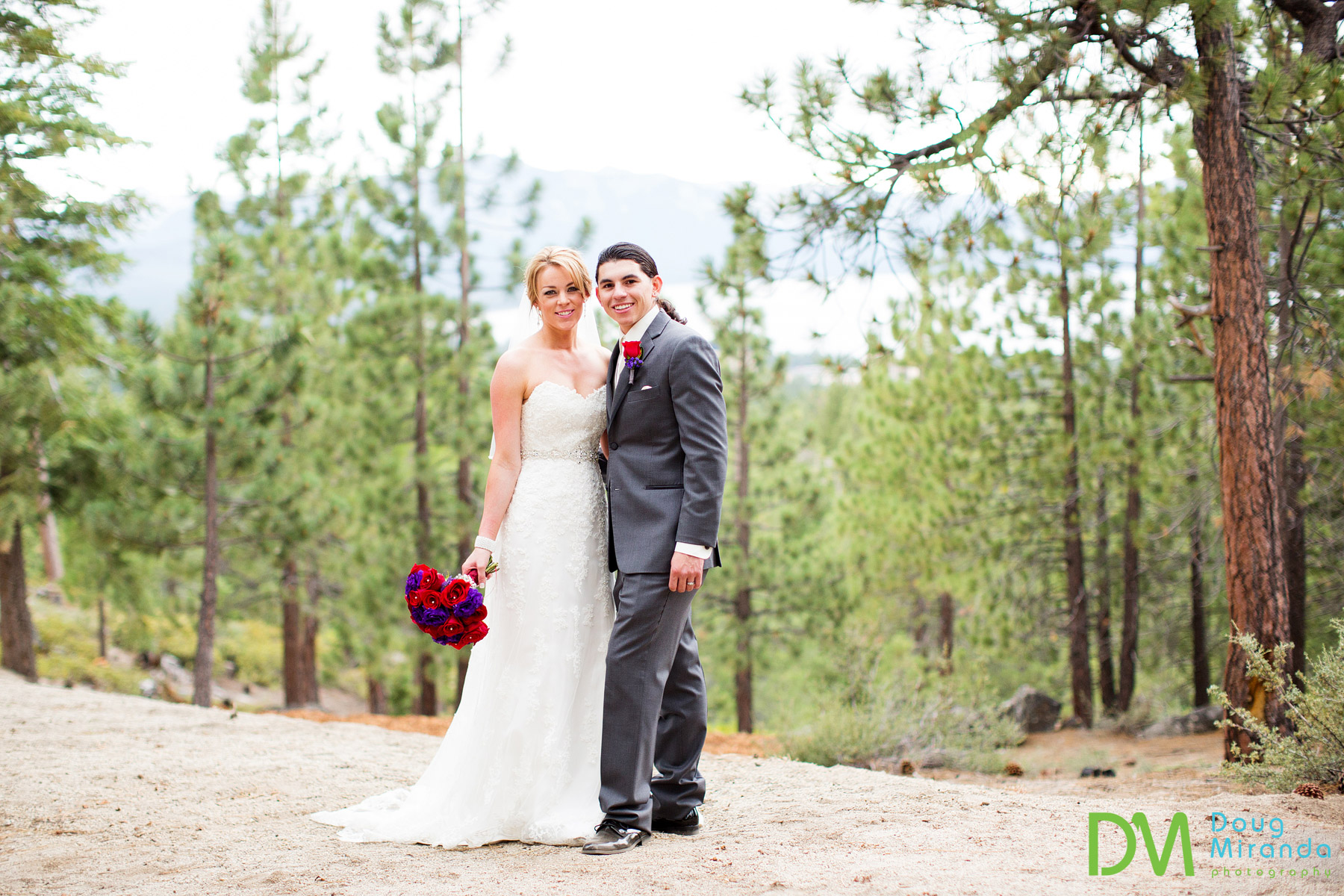 lake tahoe private estate wedding