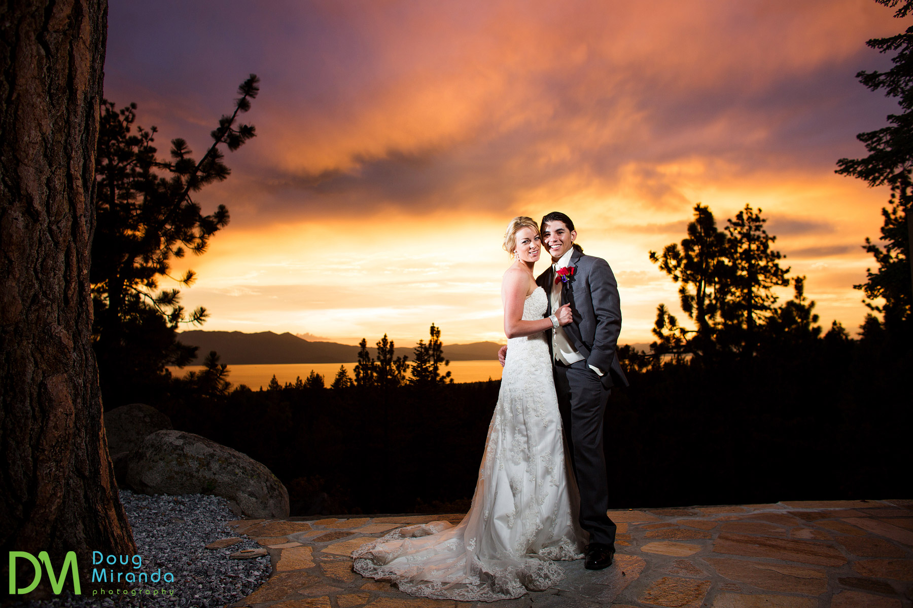 lake tahoe private estate weddings