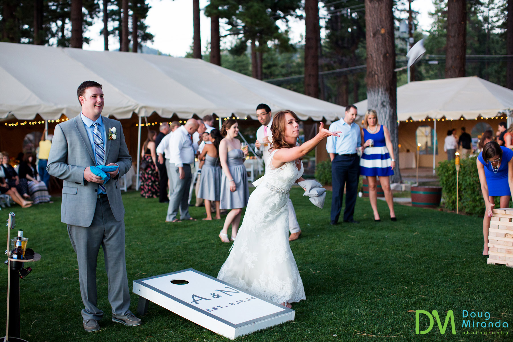 sierra nevada mountains wedding receptions