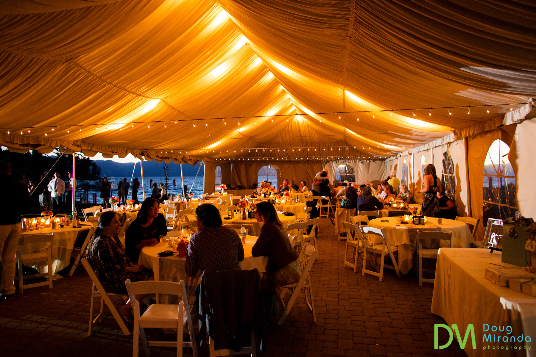 zephyr cove resort wedding tent