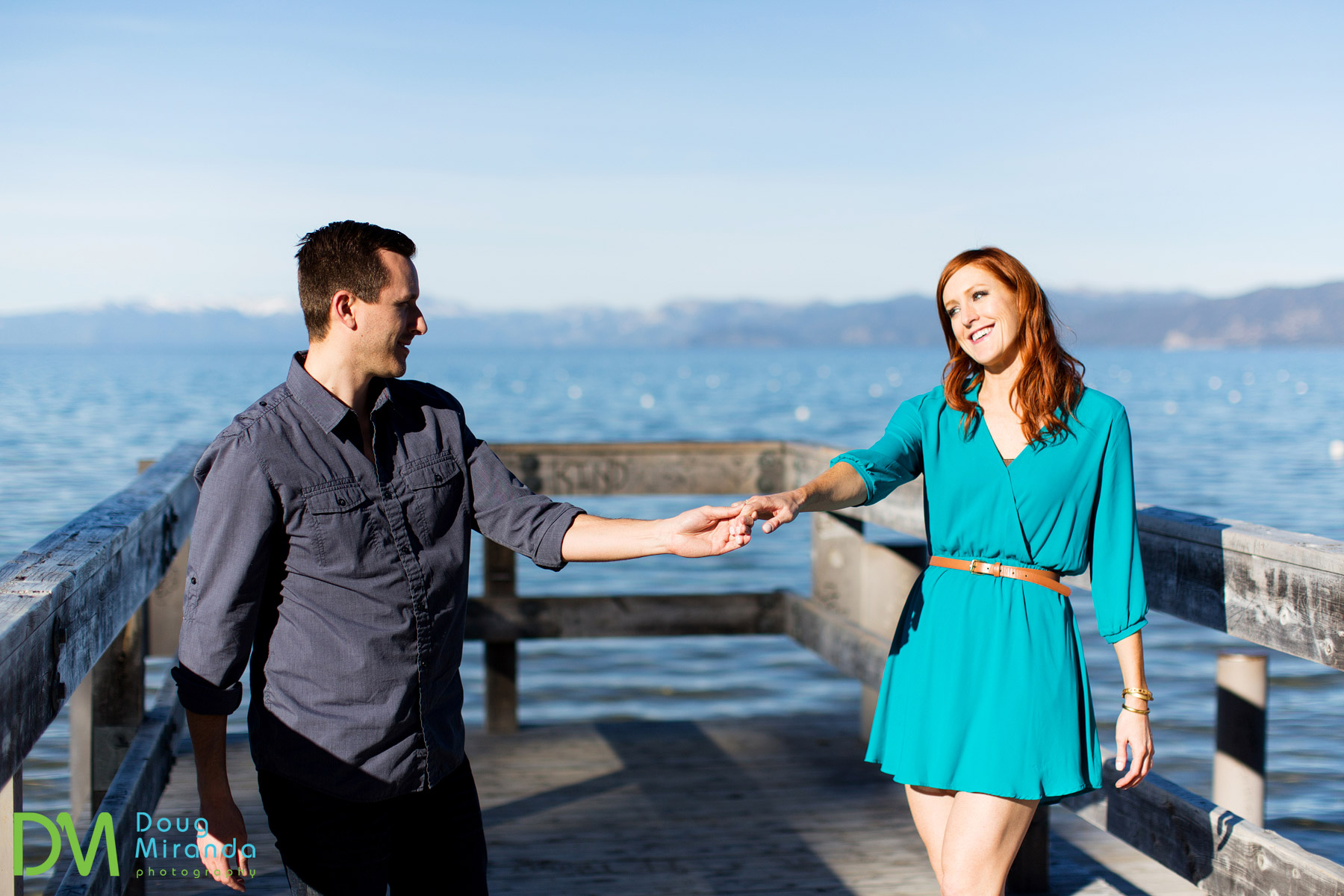 valhalla lake tahoe engagement session