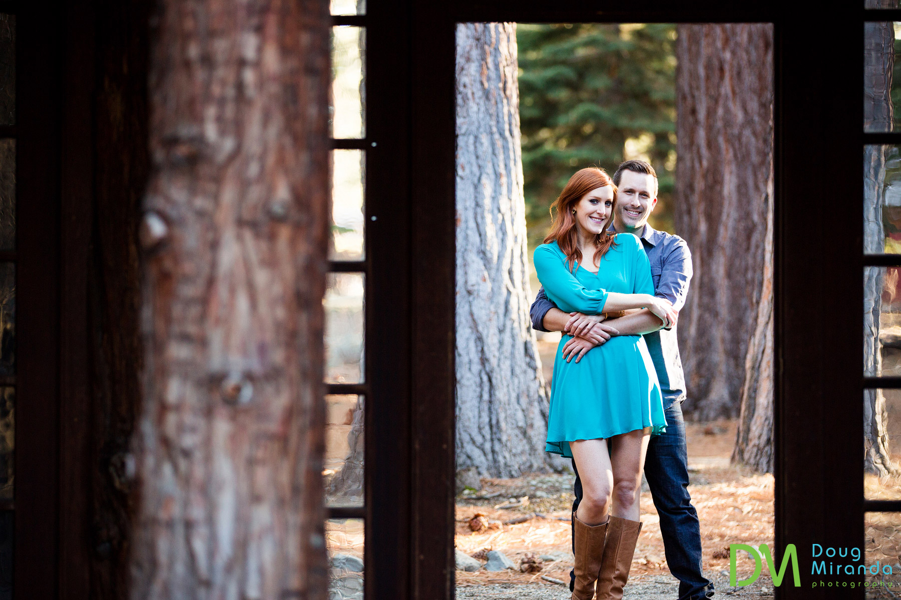 valhalla lake tahoe engagement photography