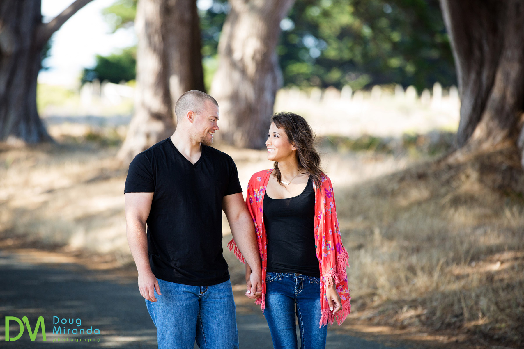 point reyes engagement photography
