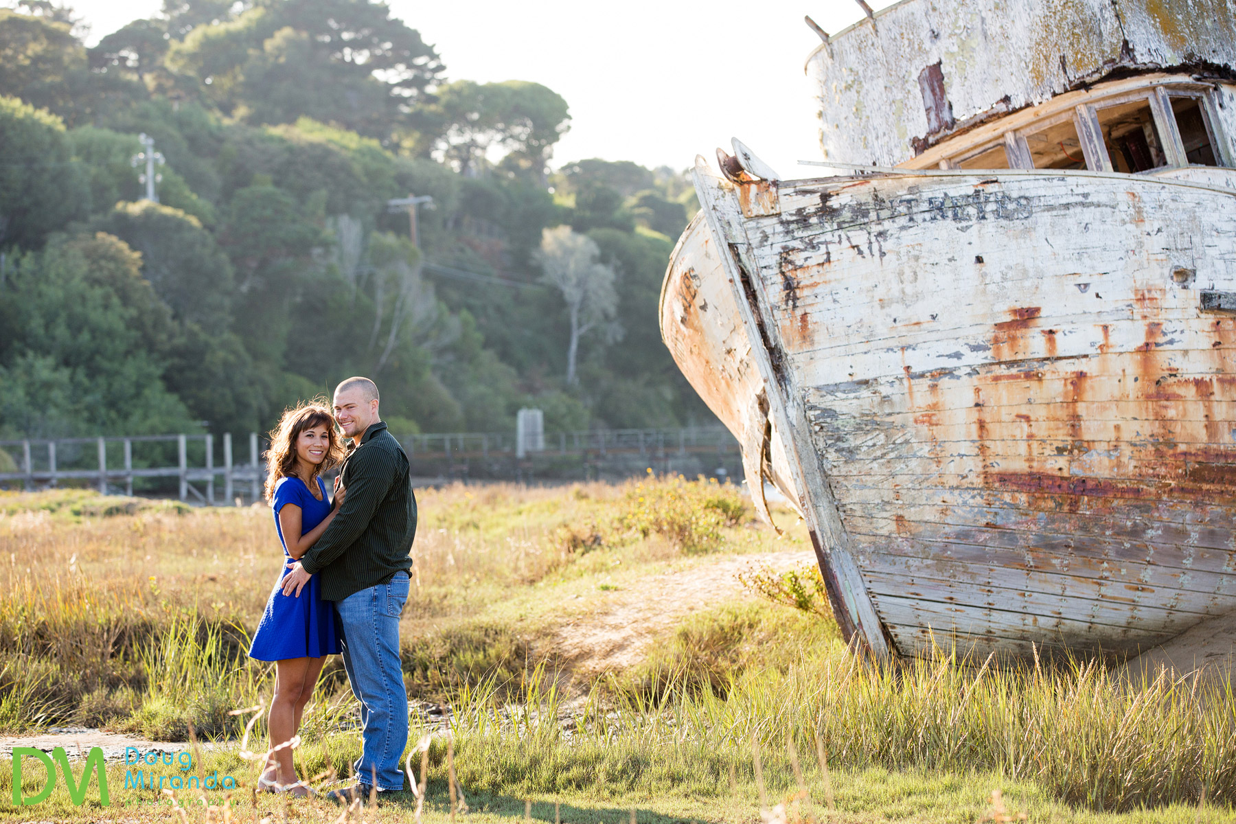 point reyes engagement photos