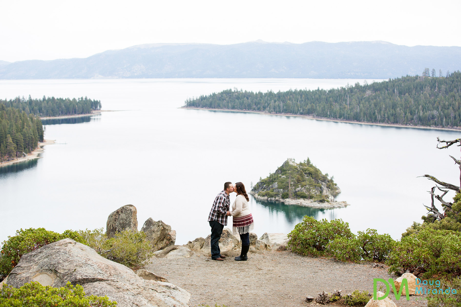 emerald bay engagement photographers
