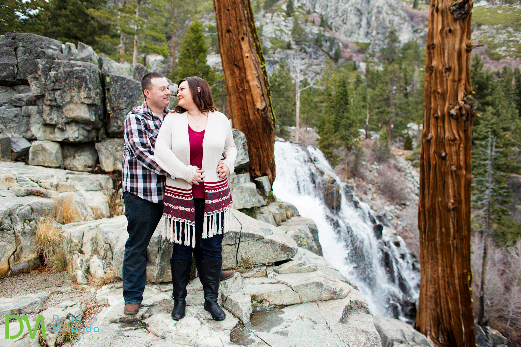 emerald bay engagement photos