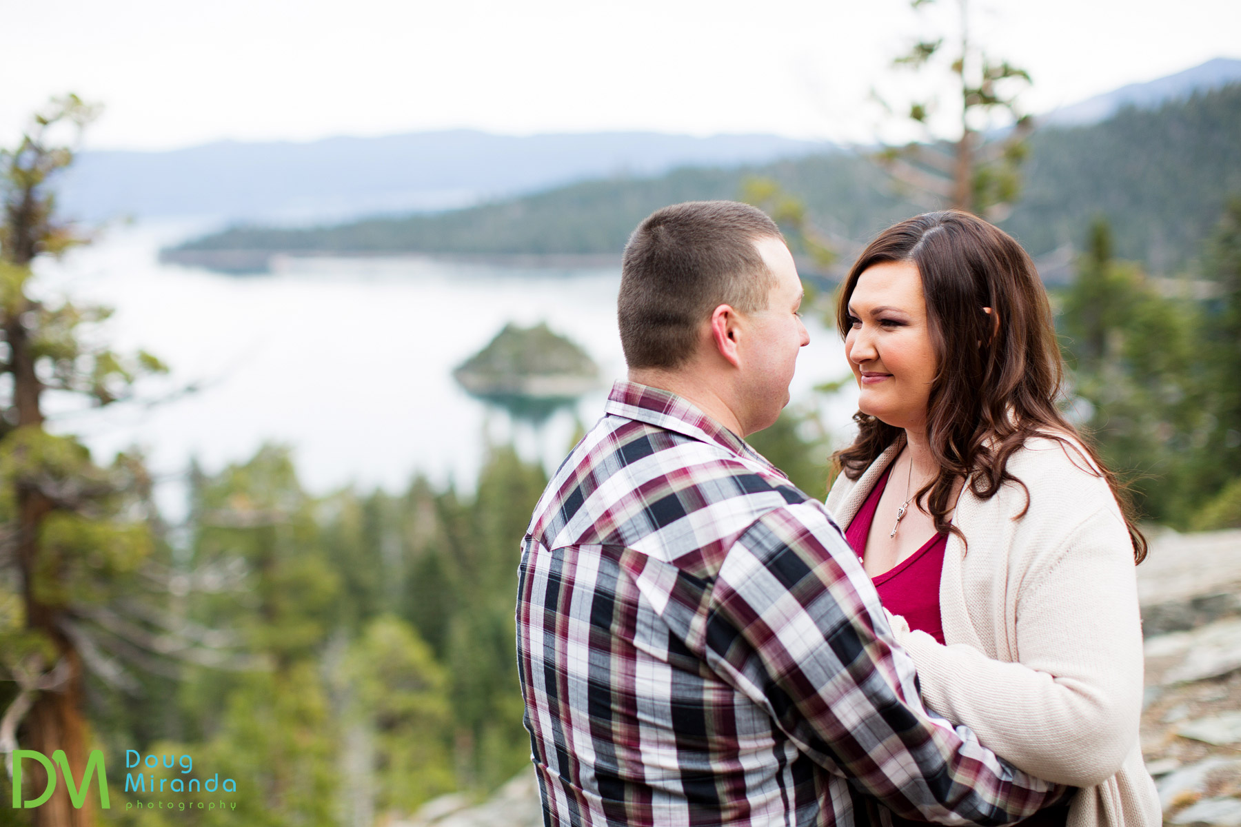 emerald bay engagement