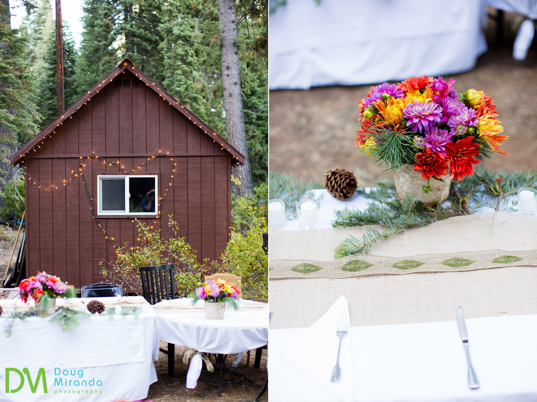 backyard wedding lake tahoe