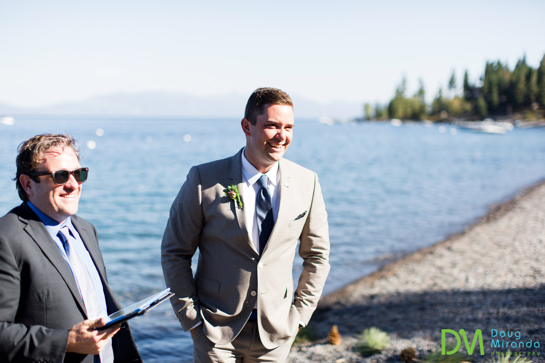 west shore lake tahoe wedding ceremony