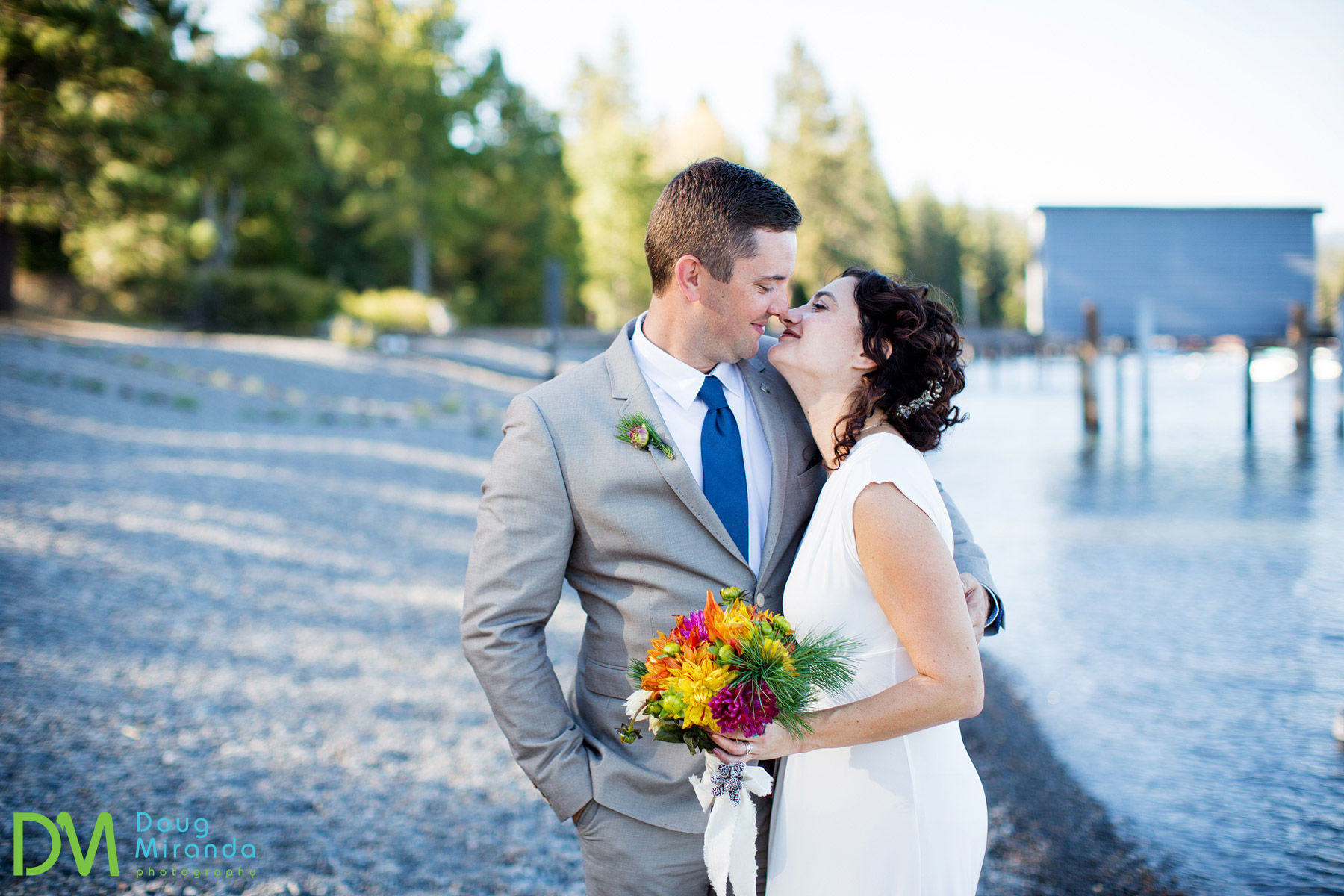 west shore lake tahoe wedding photographer