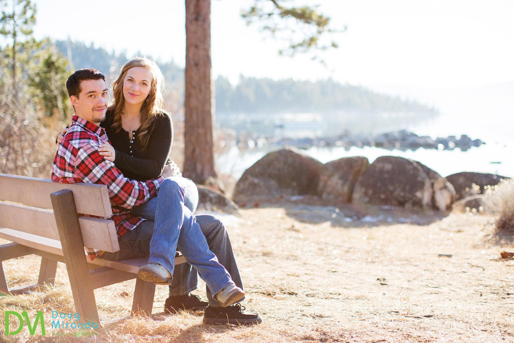 winter wedding lake tahoe photos