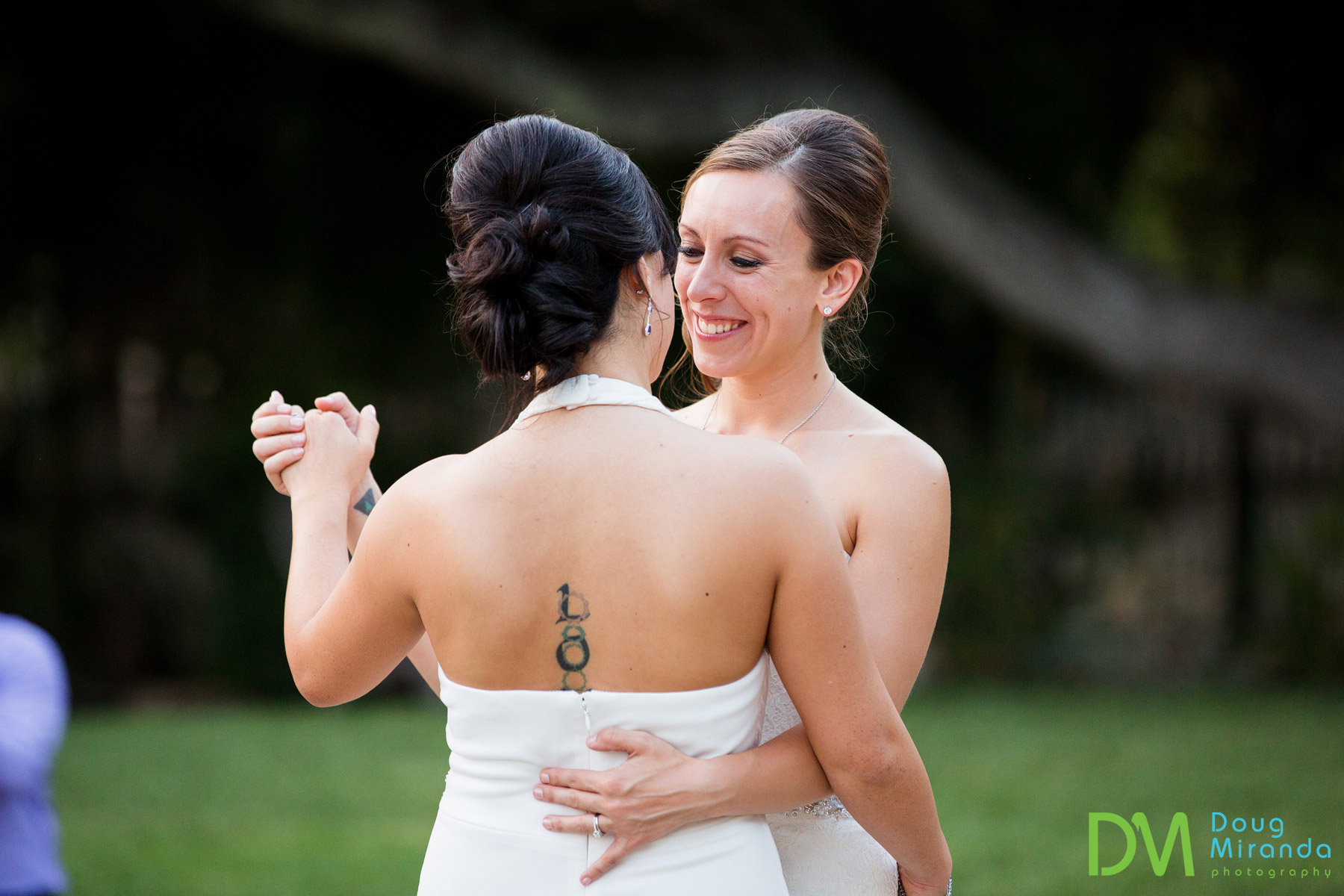 same sex wedding photos Carmel valley