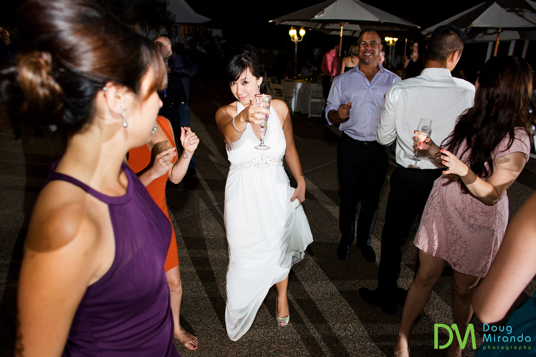 los laureles lodge wedding reception