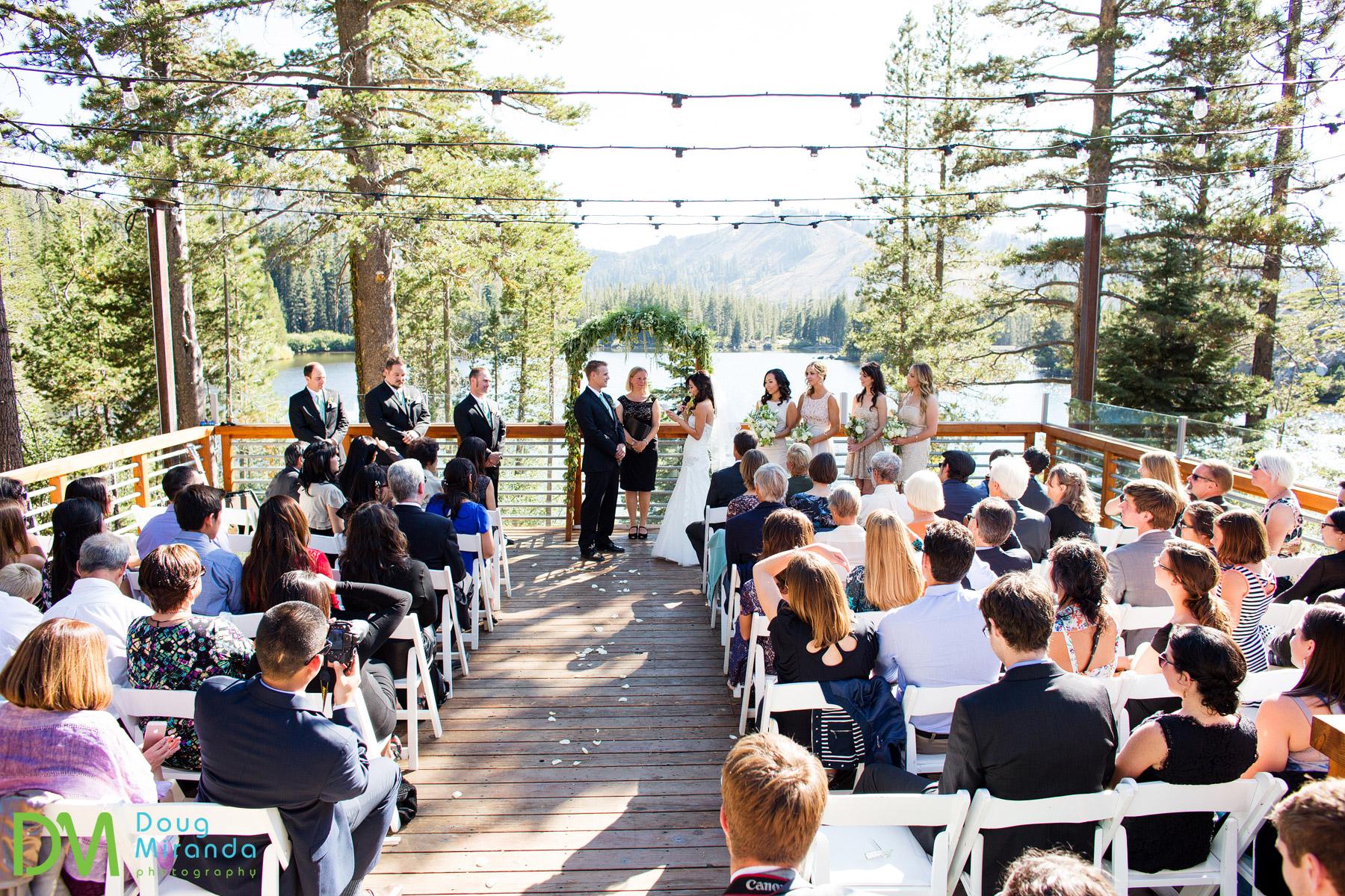sugar bowl wedding ceremony lake mary
