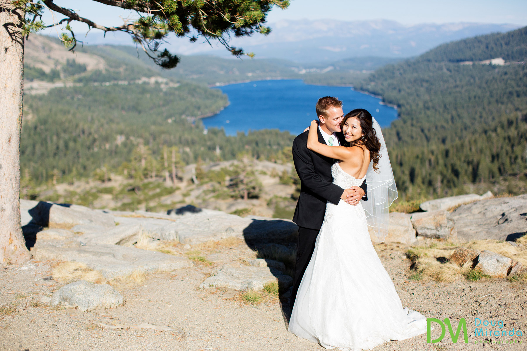 donner lake wedding photography