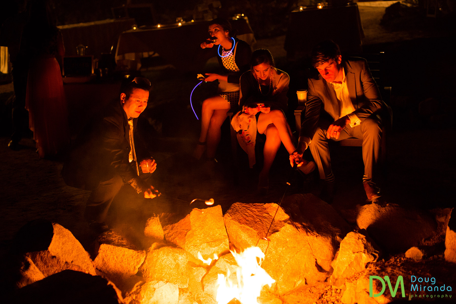 wedding s'mores at receptions