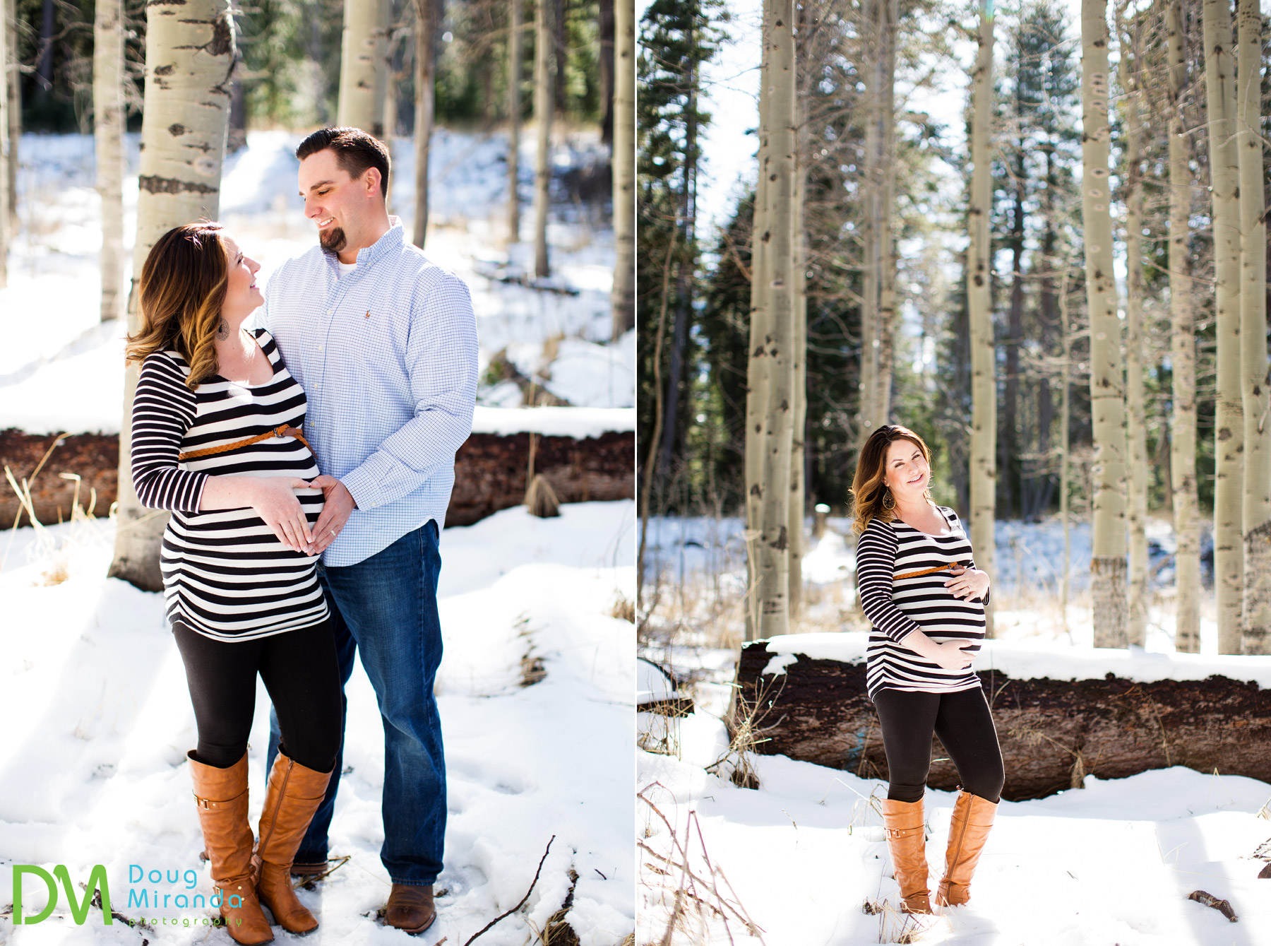 south lake tahoe maternity photography