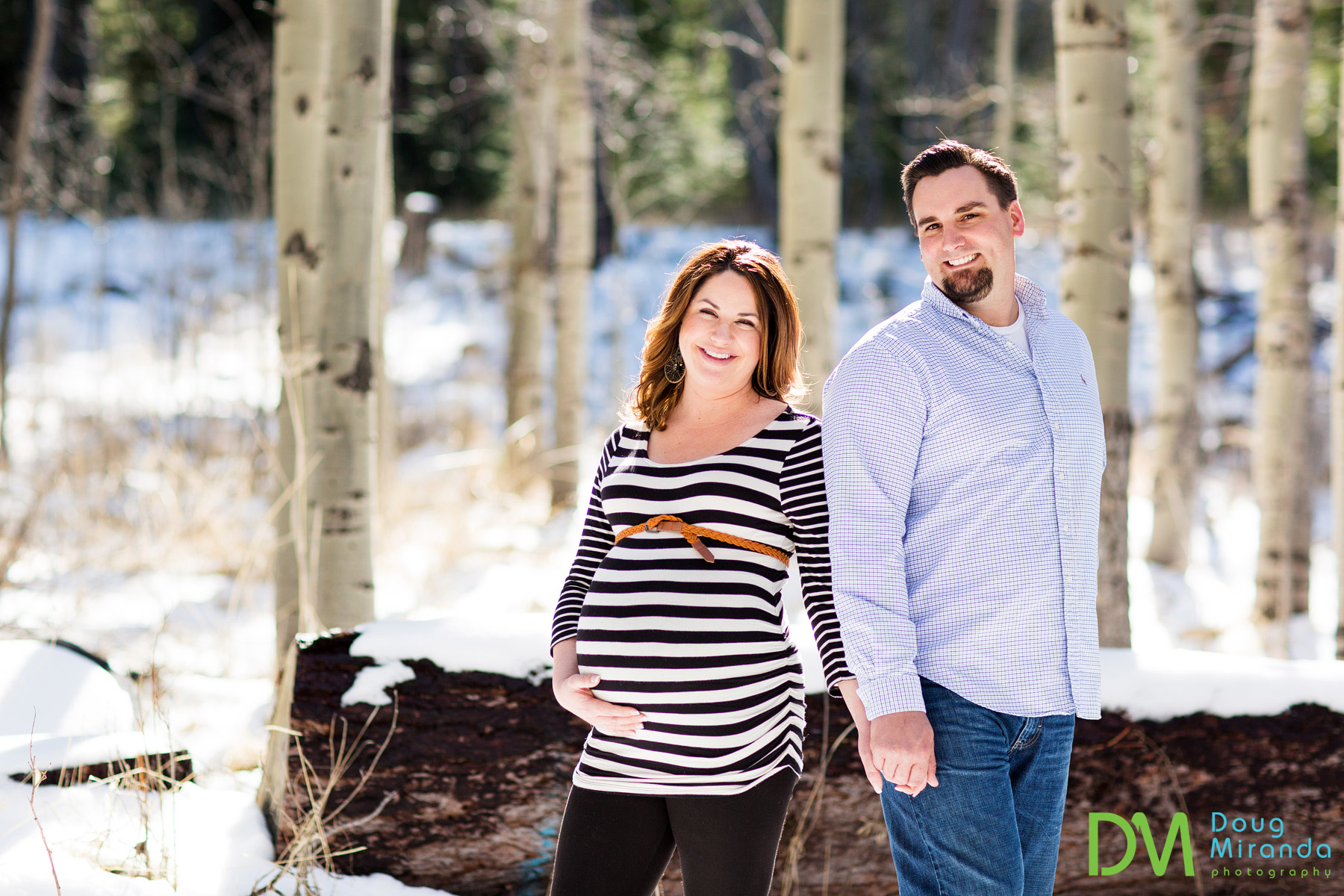 lake tahoe maternity photo