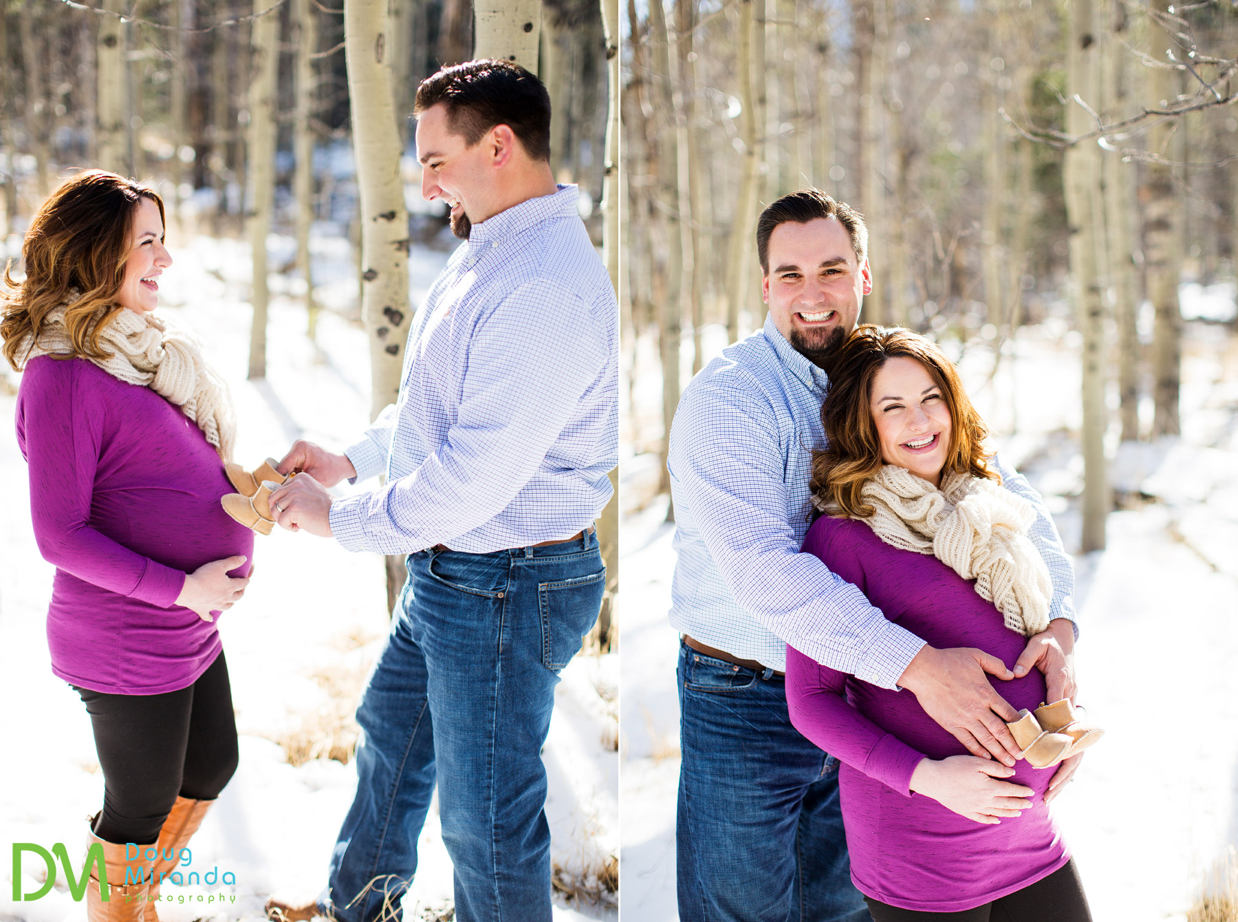 lake tahoe maternity photos