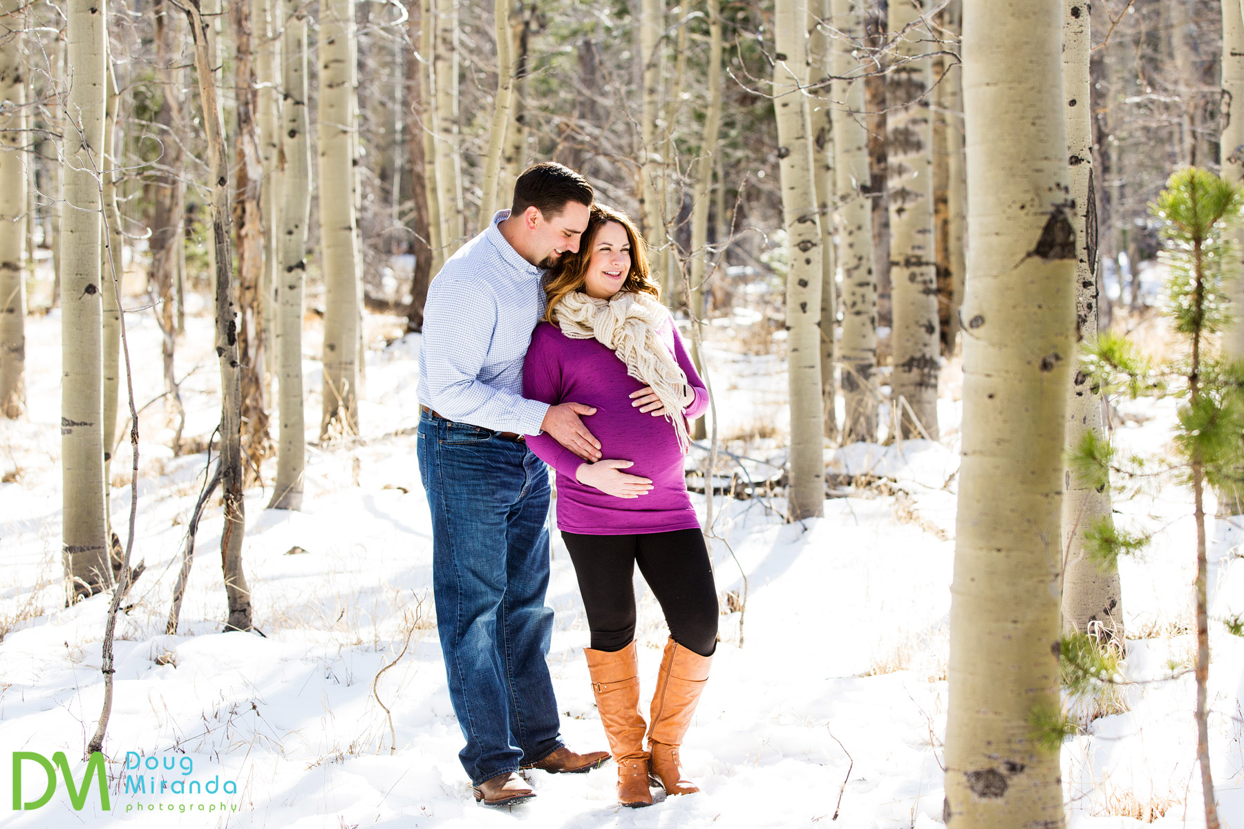 lake tahoe maternity photography