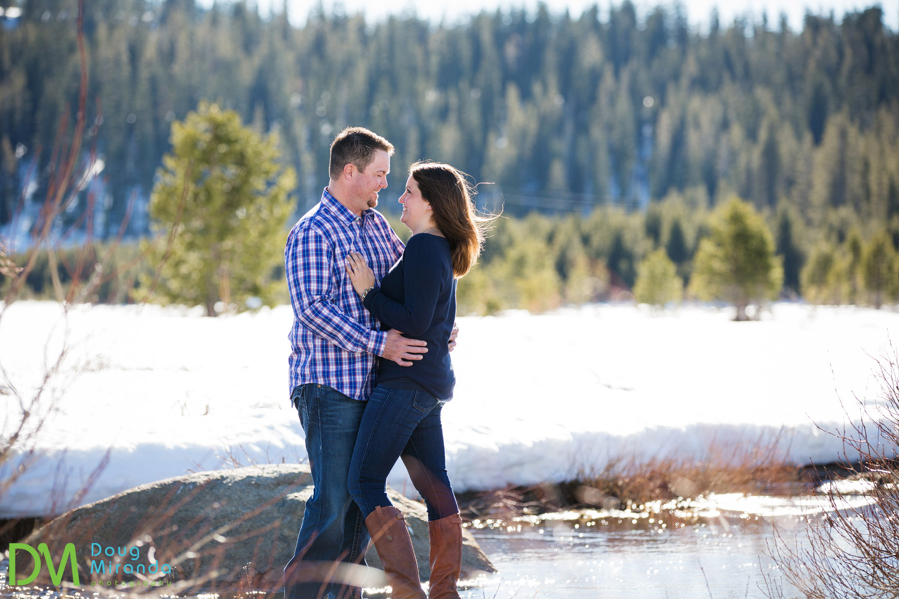 Soda Springs Engagement Photography