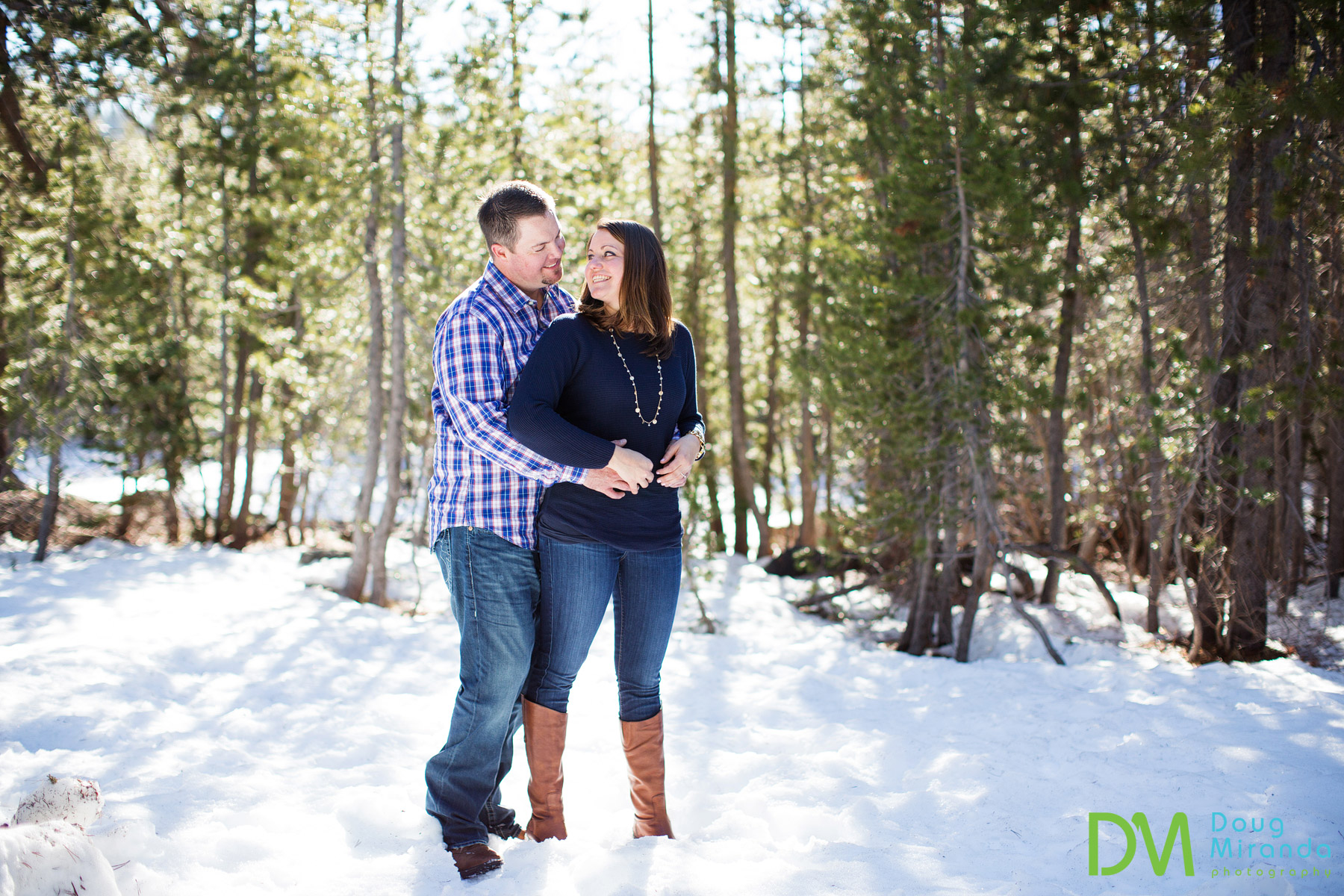 Engagement Photographer Soda Springs Ca