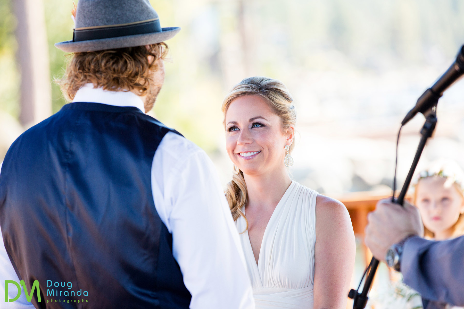cave rock lake tahoe wedding ceremony