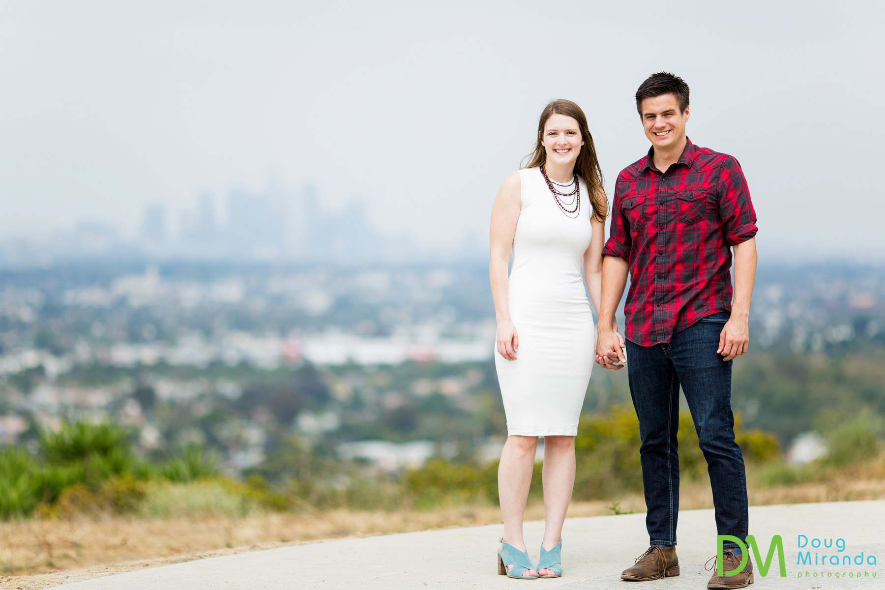 baldwin hills overlook engagement