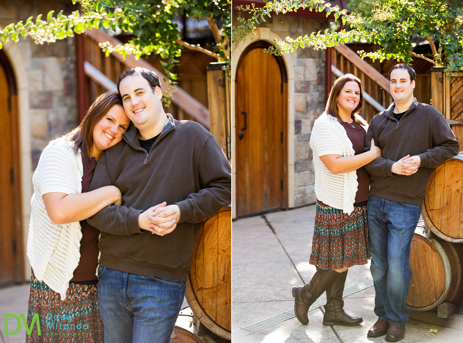 fairfield engagement session