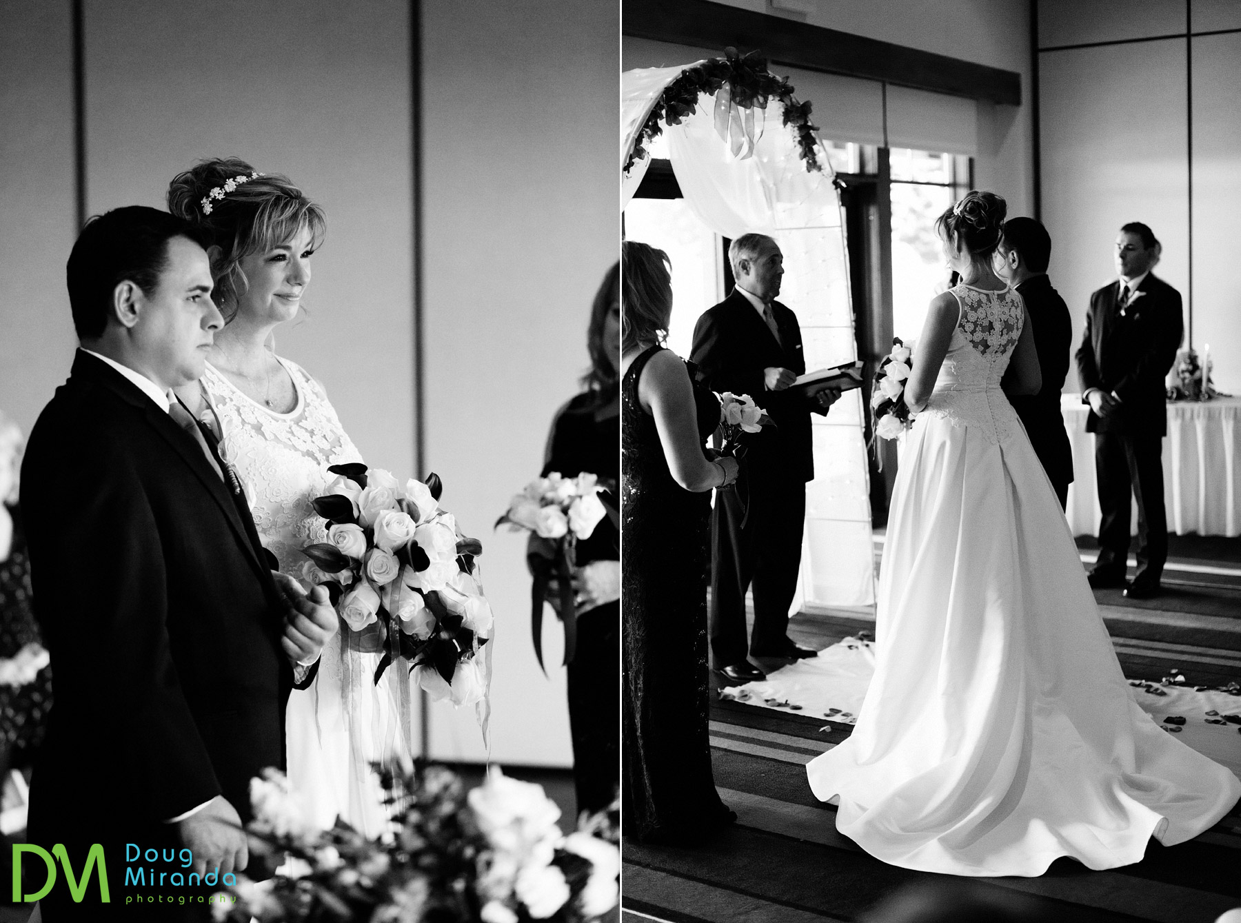 winter wedding hyatt lake tahoe