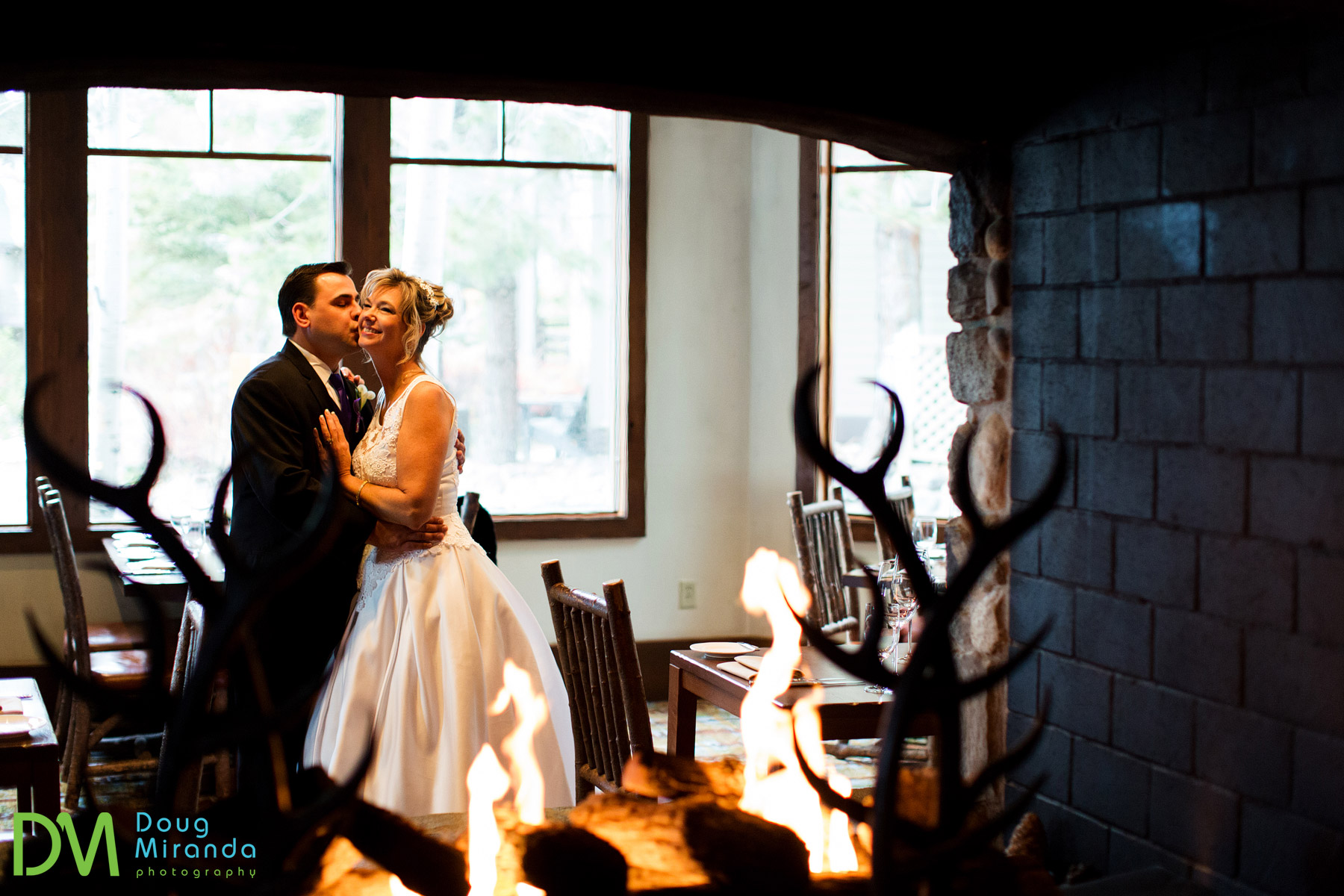 lake tahoe hyatt winter wedding