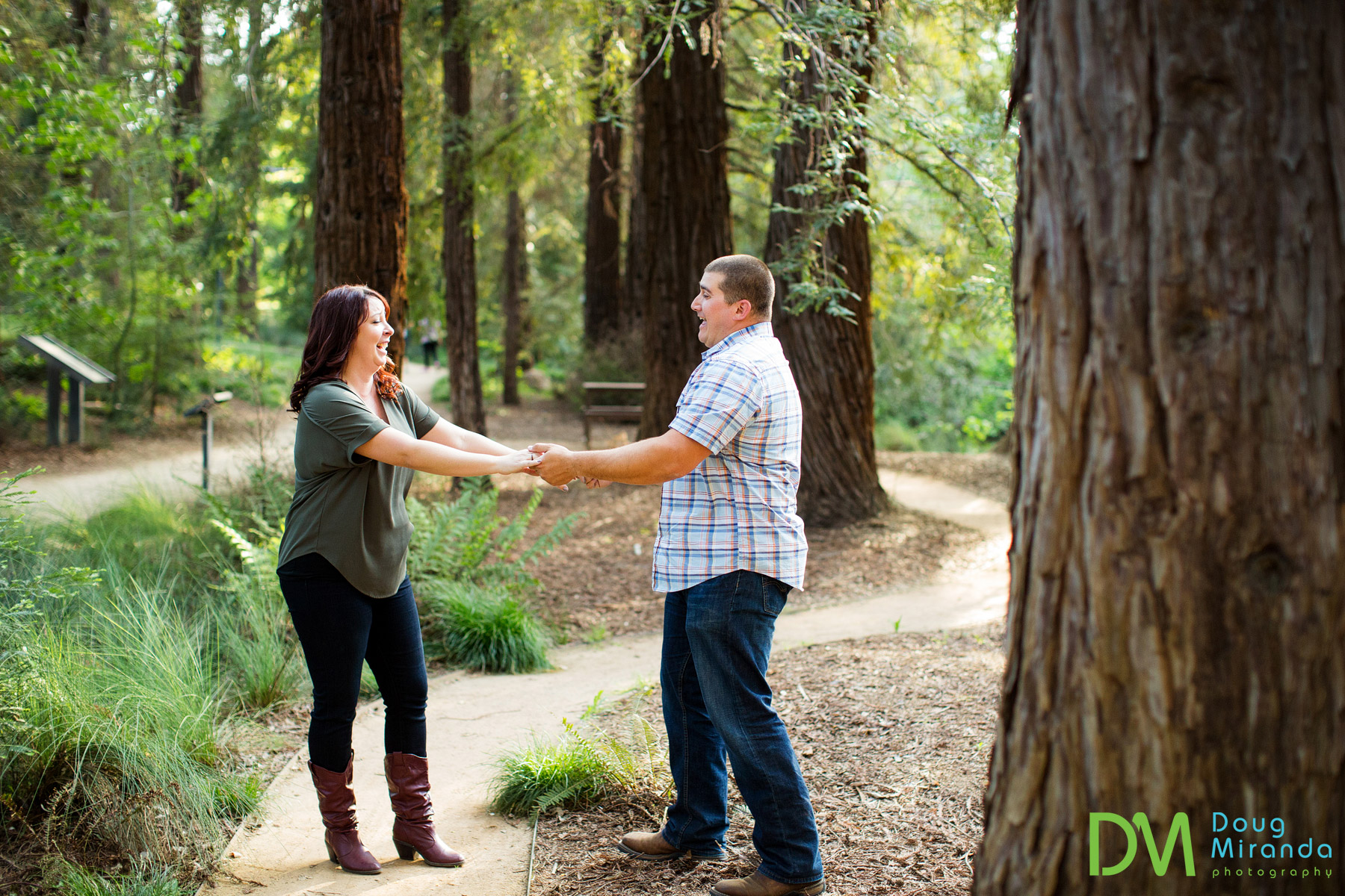 UC Davis Engagement Photography.