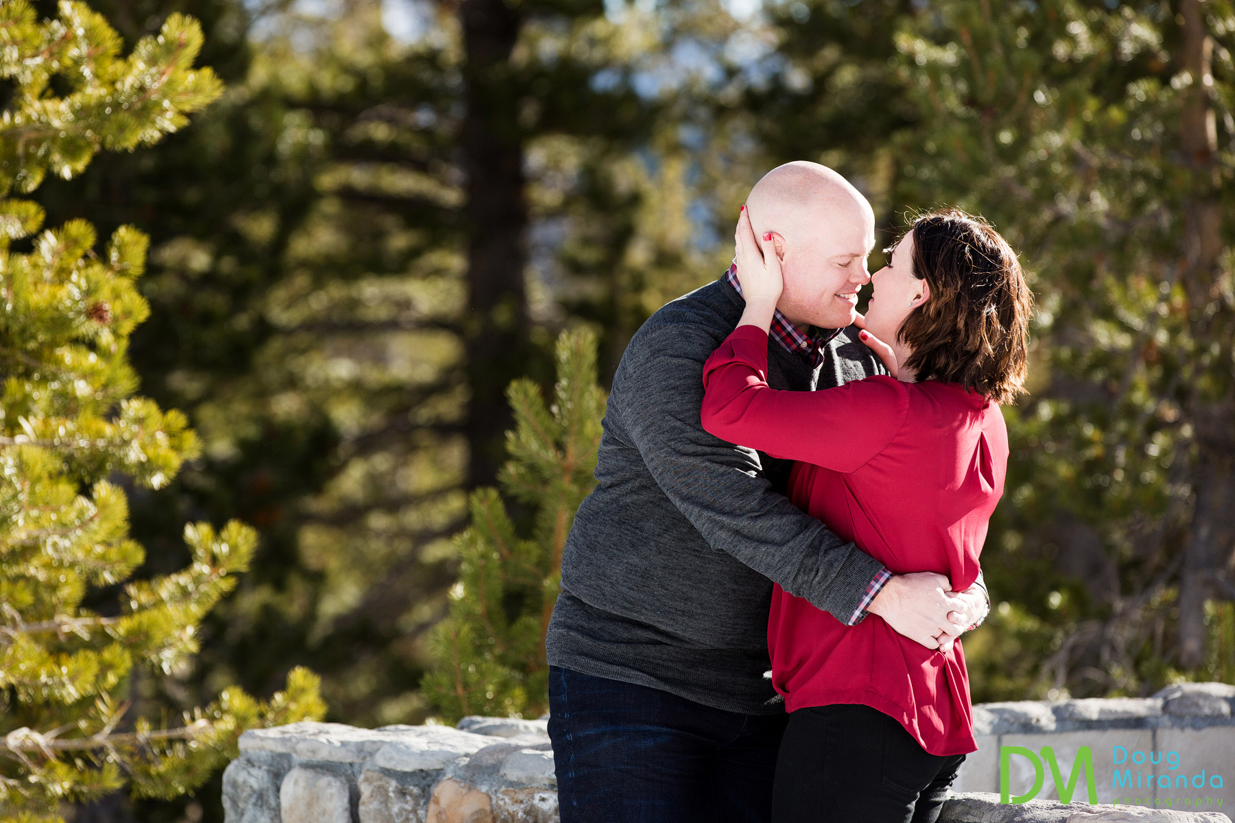 mt rose engagement photos