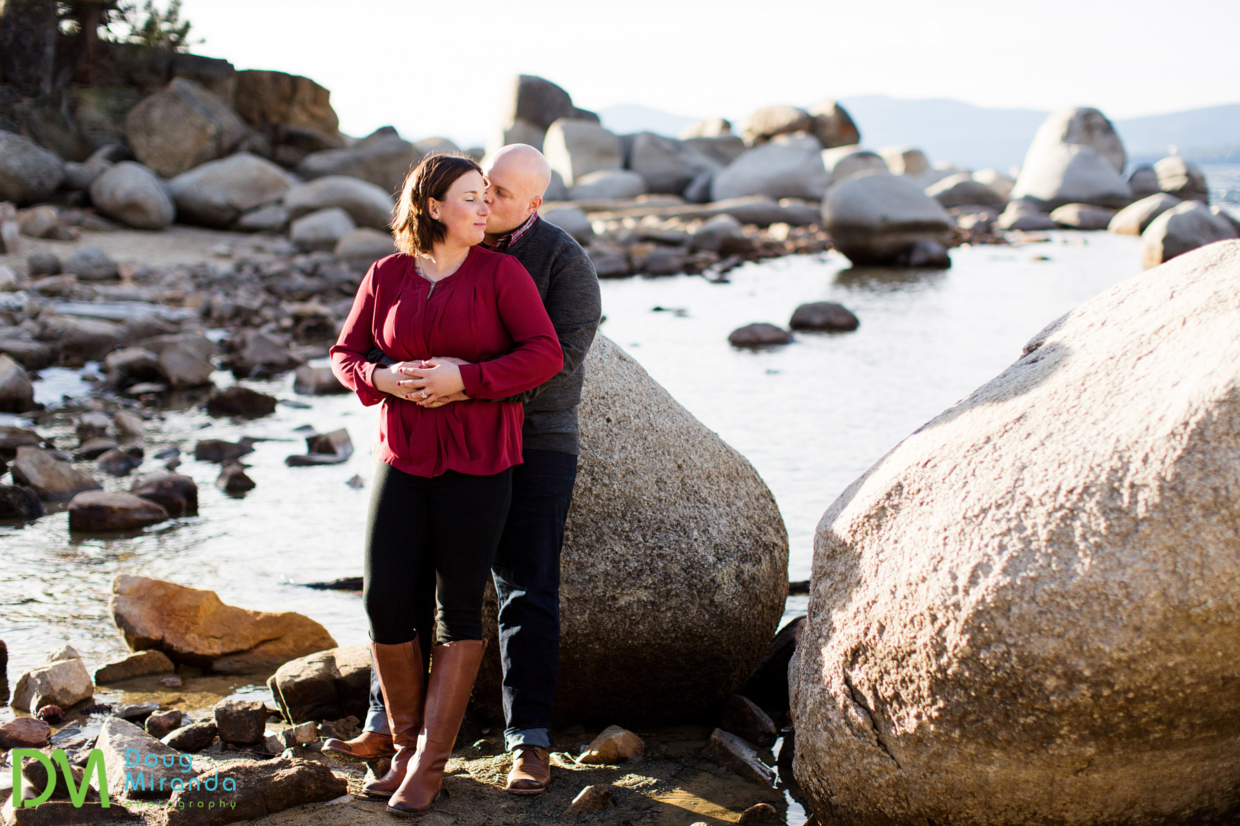 engagement photography sand harbor