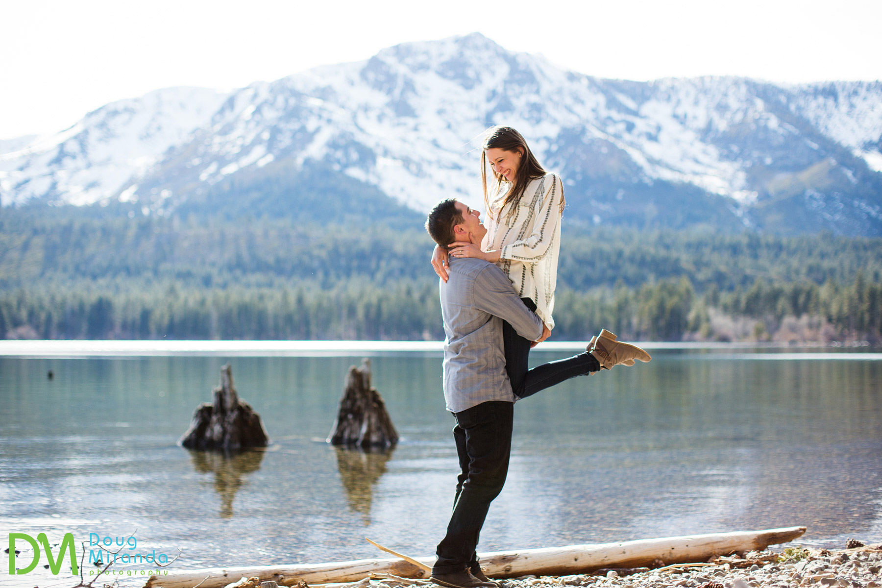 fallen leaf lake engagement