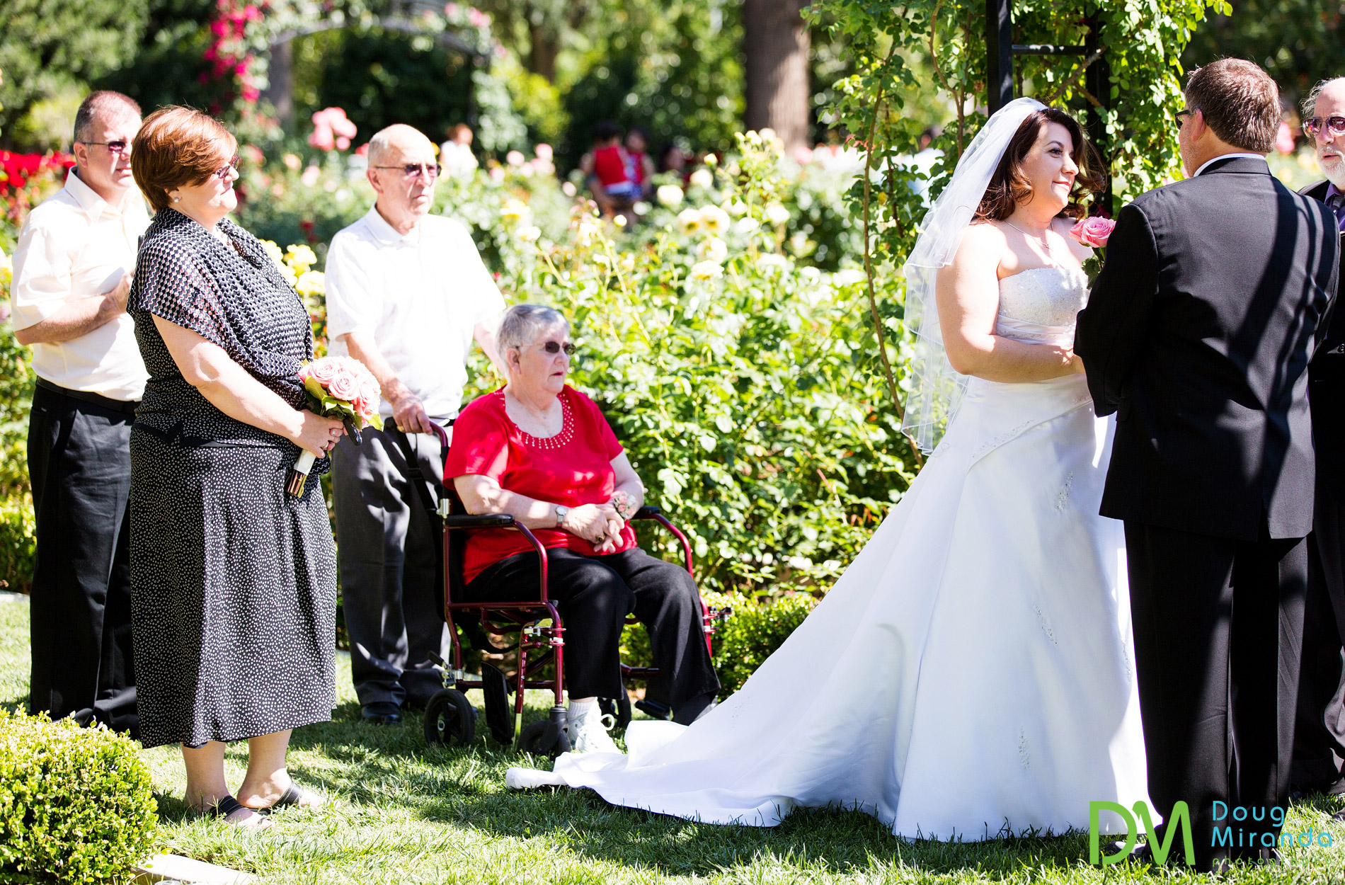 sacramento rose garden weddings.