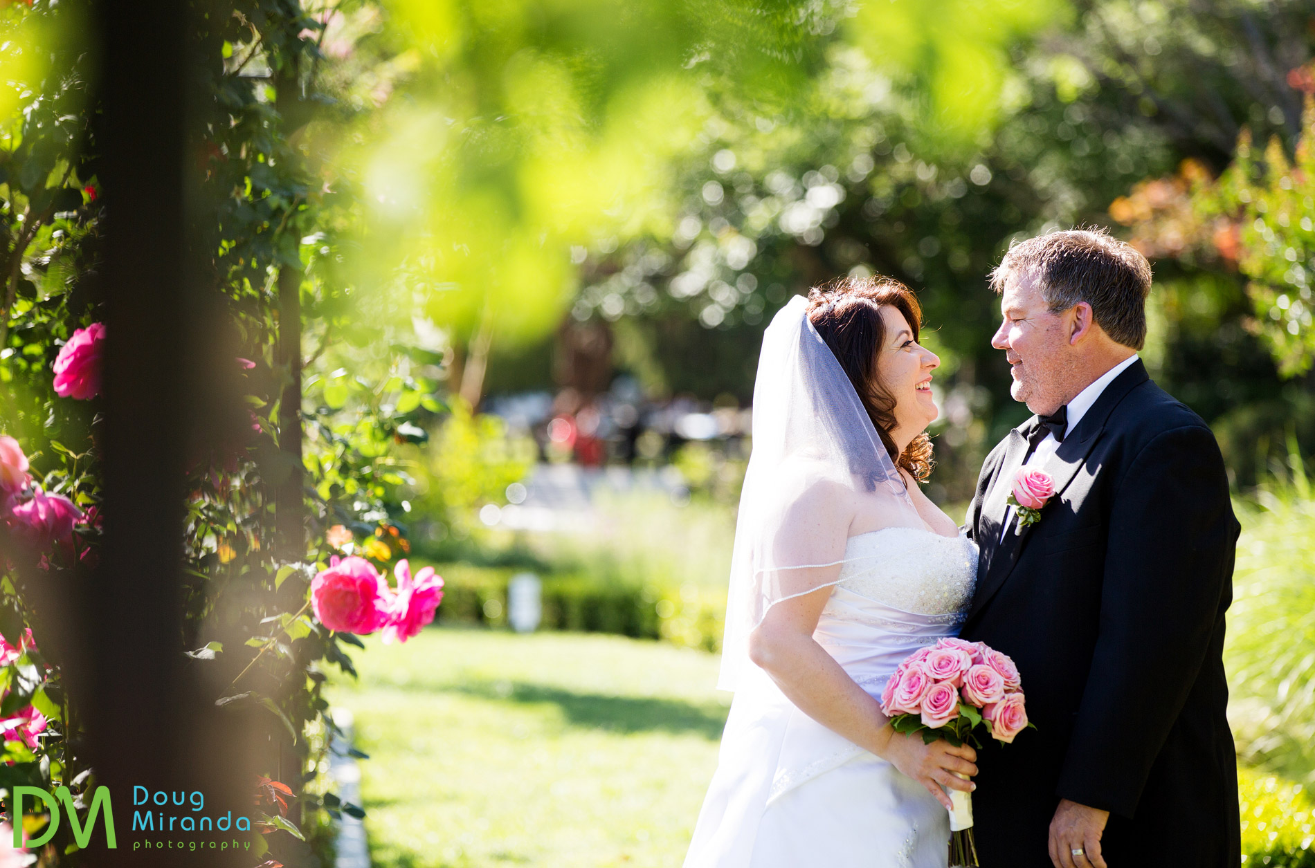 mckinley park rose garden wedding