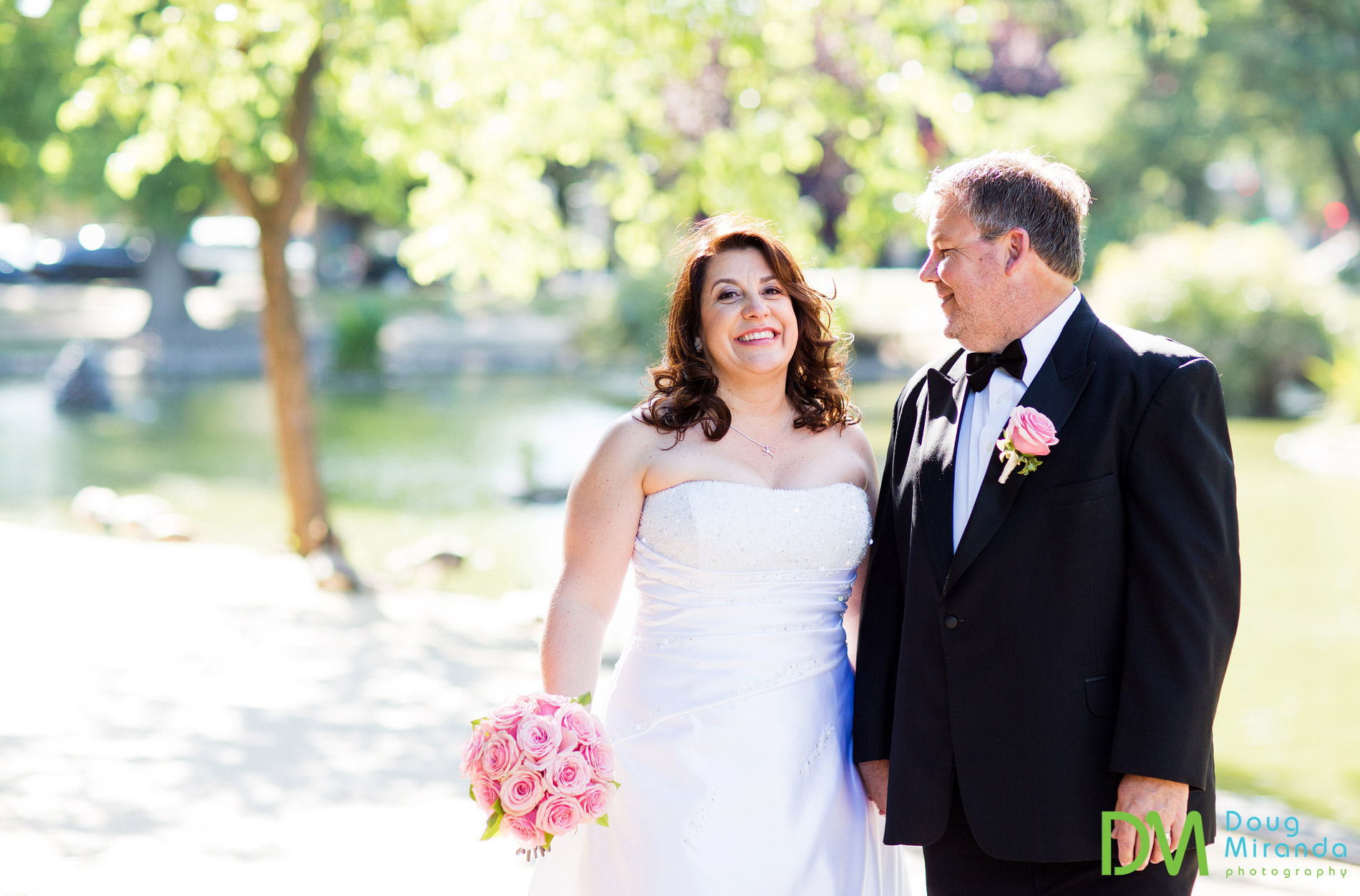 mckinley park rose garden wedding photos
