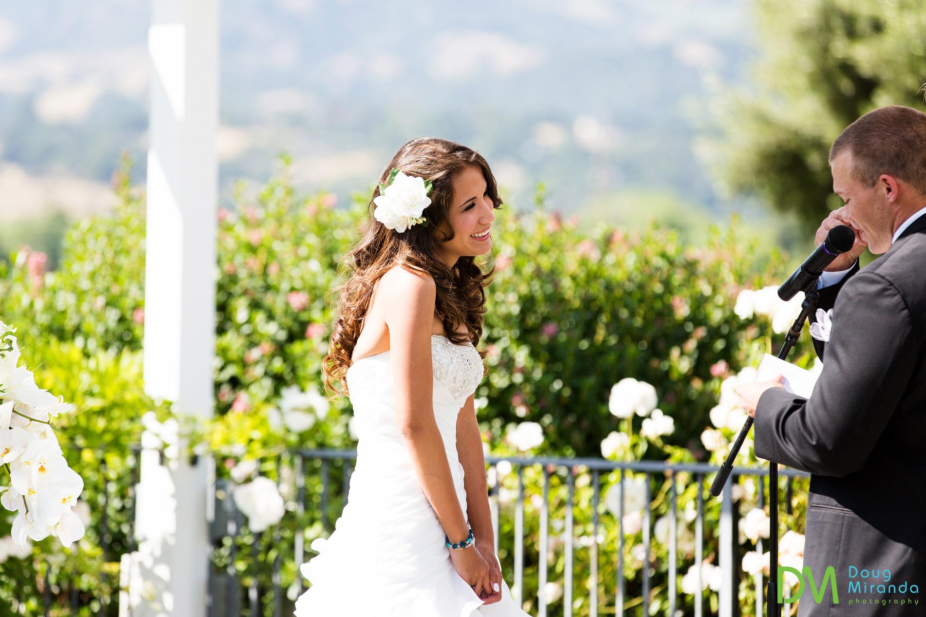 geyserville inn wedding ceremony