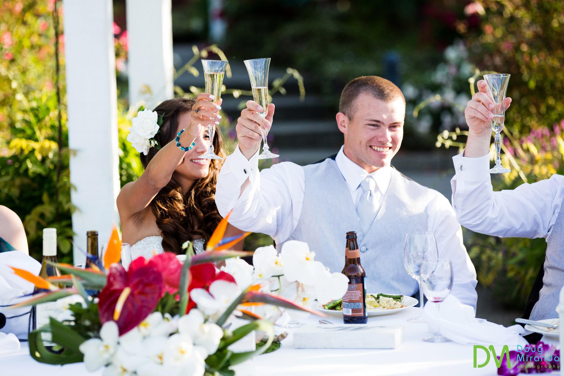 geyserville inn wedding reception photos