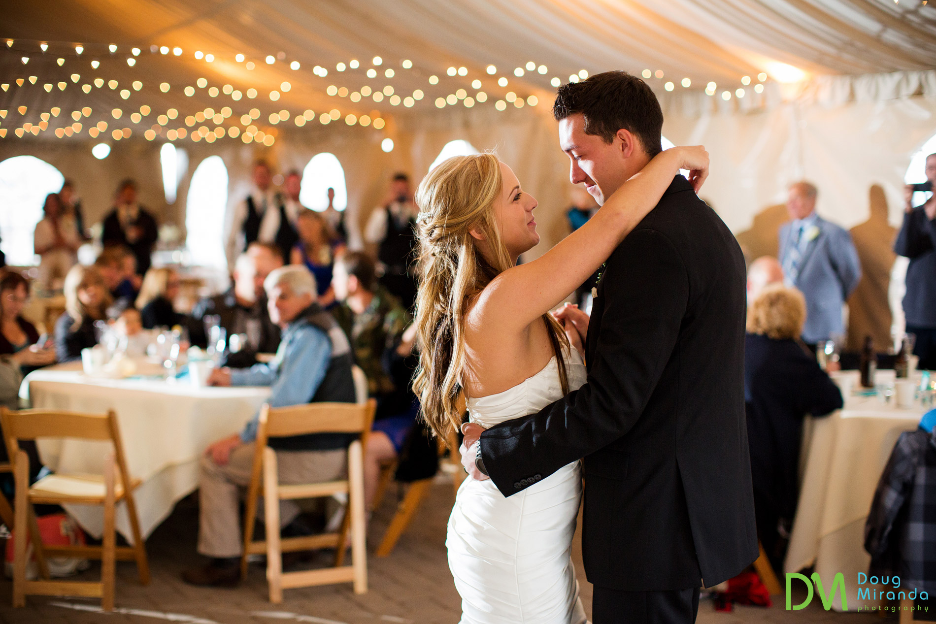 first dance at zephyr cove wedding