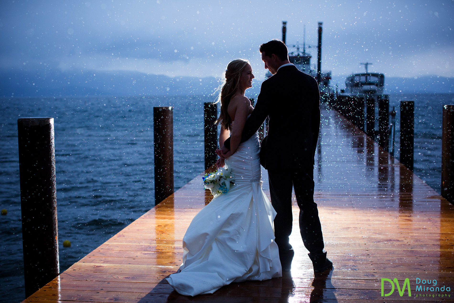 Zephyr Cove Resort Wedding.