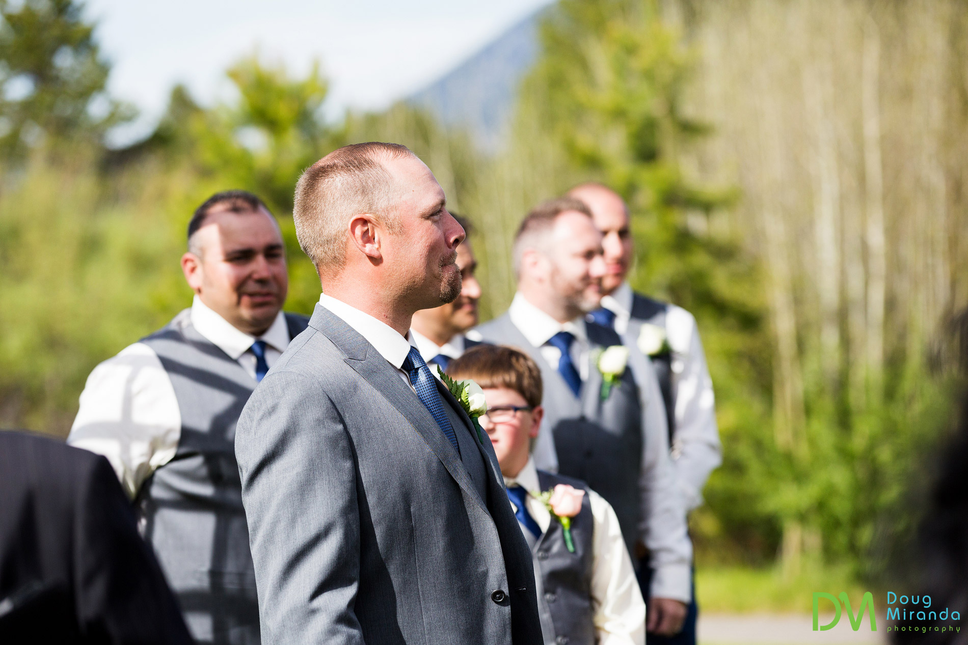 lake tahoe golf course wedding photographer