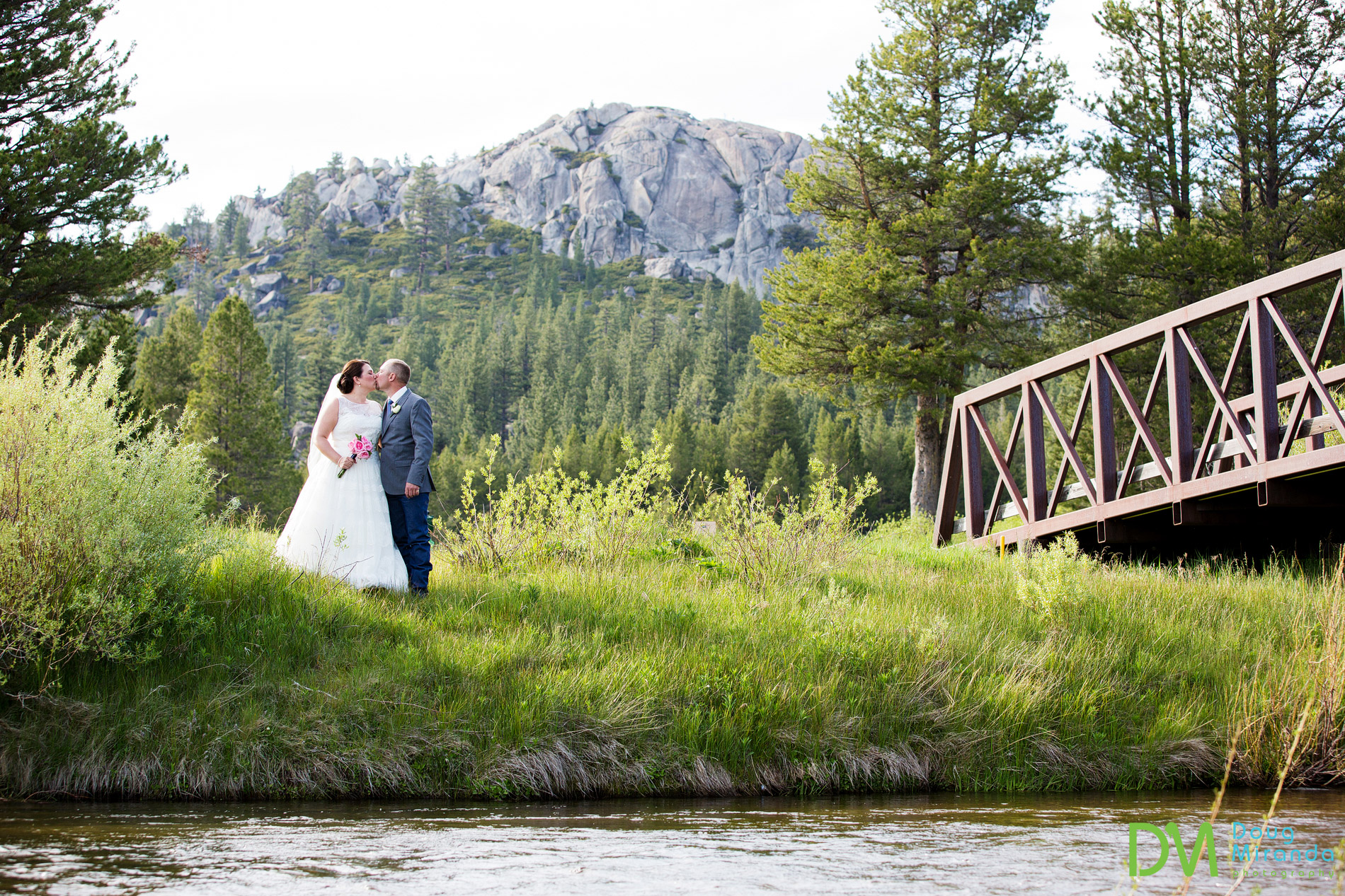 lake tahoe golf course wedding meyers ca