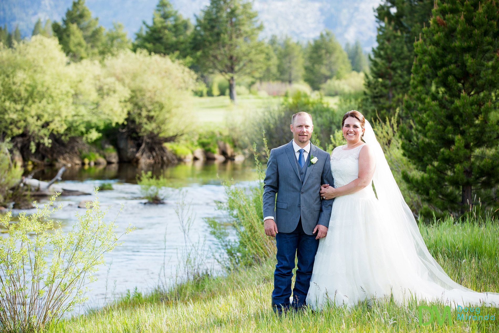 Lake Tahoe Golf Course Wedding Meyers CA.