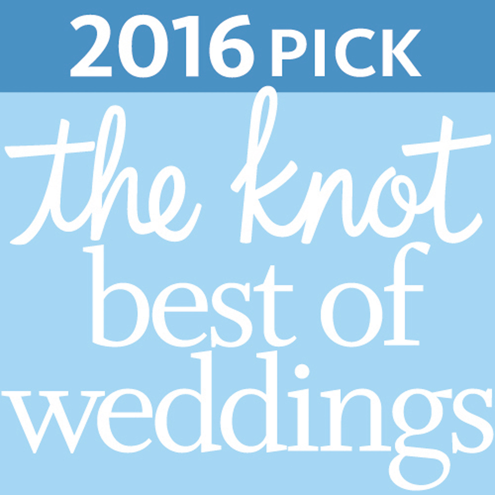 The Knot Best of Weddings 2016.