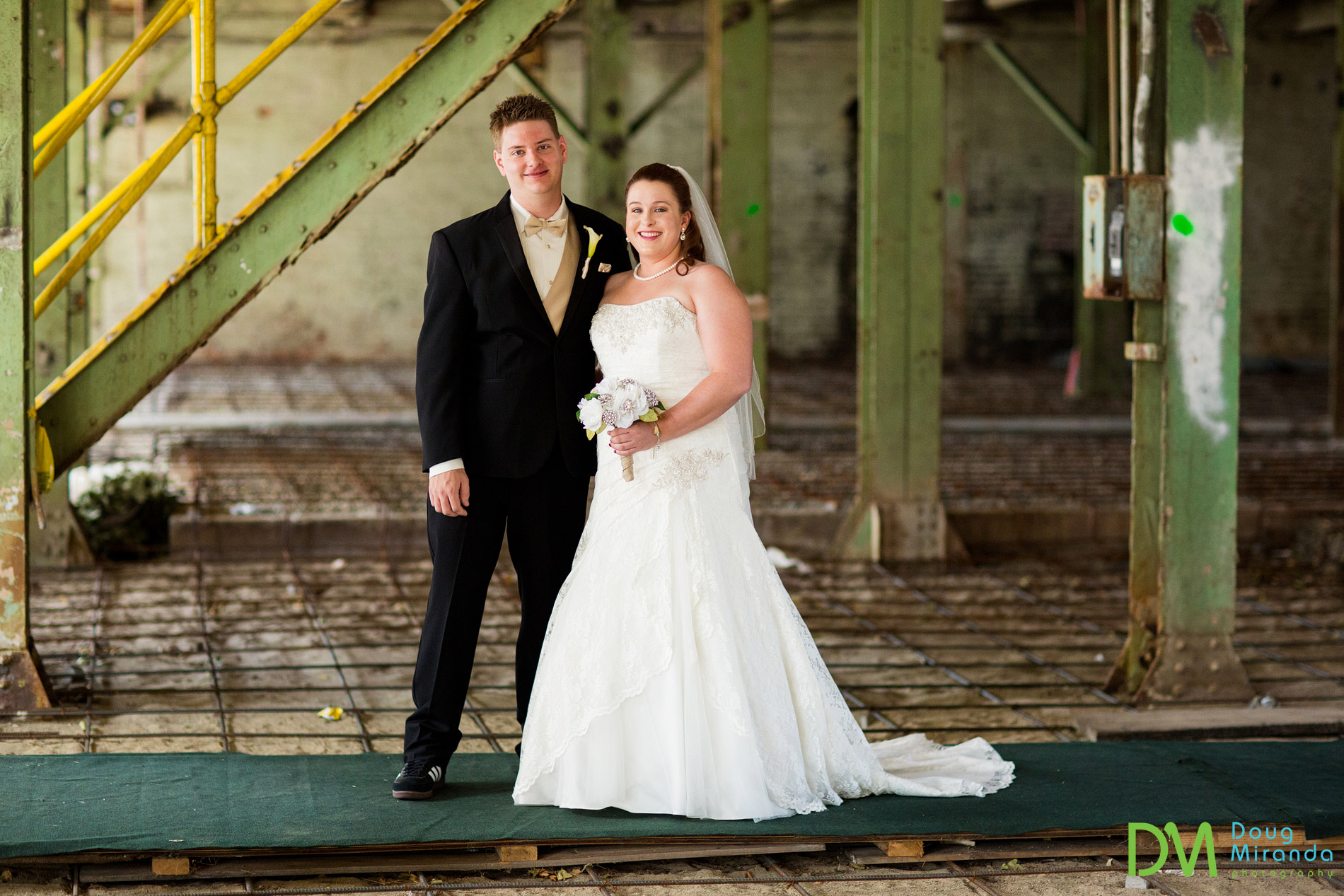 old sugar mill wedding photos