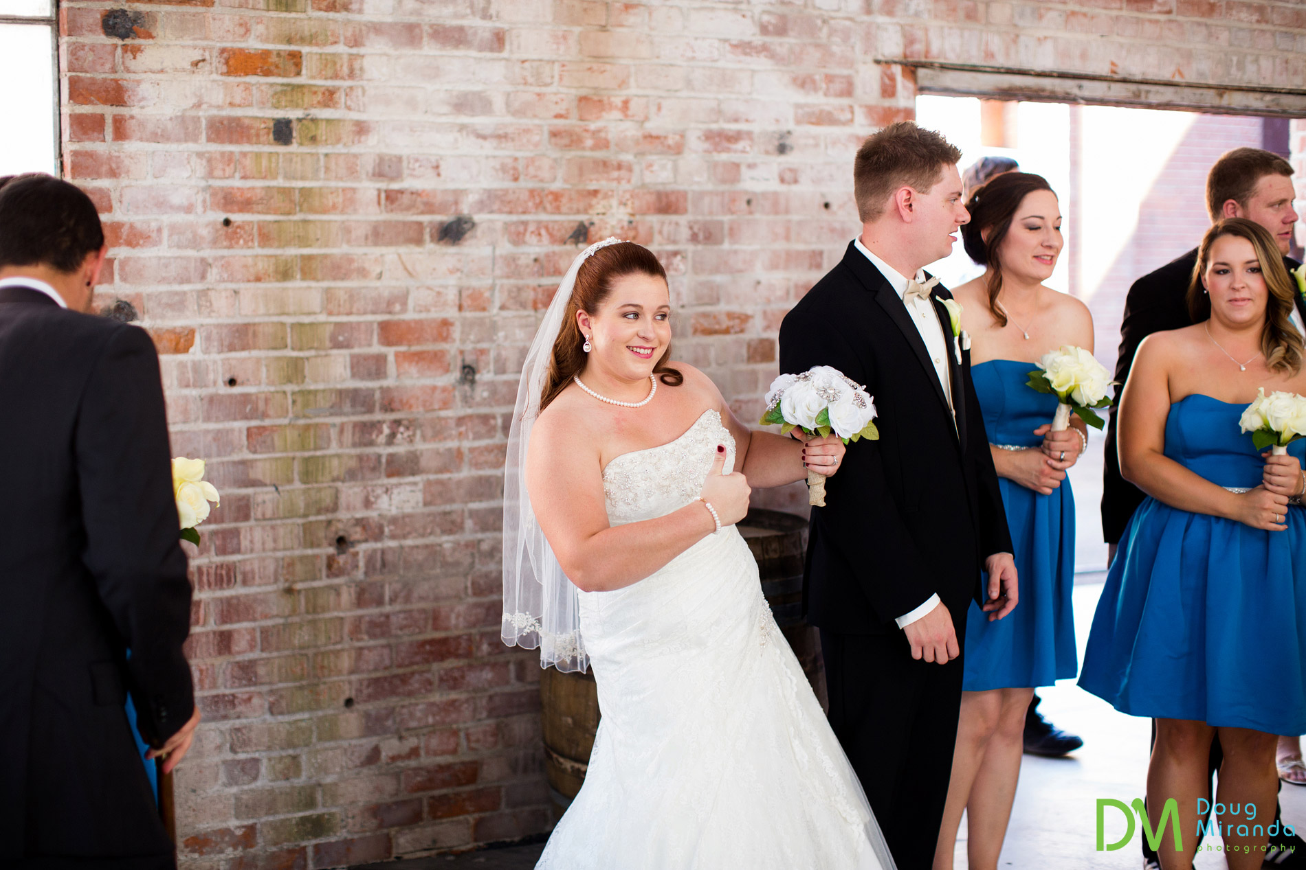 boiler room wedding ceremony old sugar mill